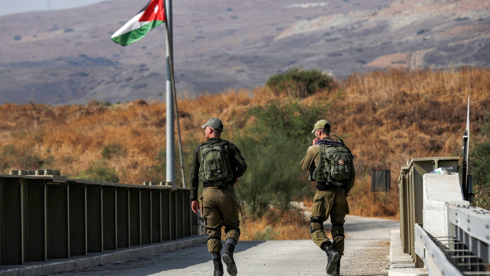 لحظة وصول هبة اللبدي وعبد الرحمن مرعي إلى الأردن