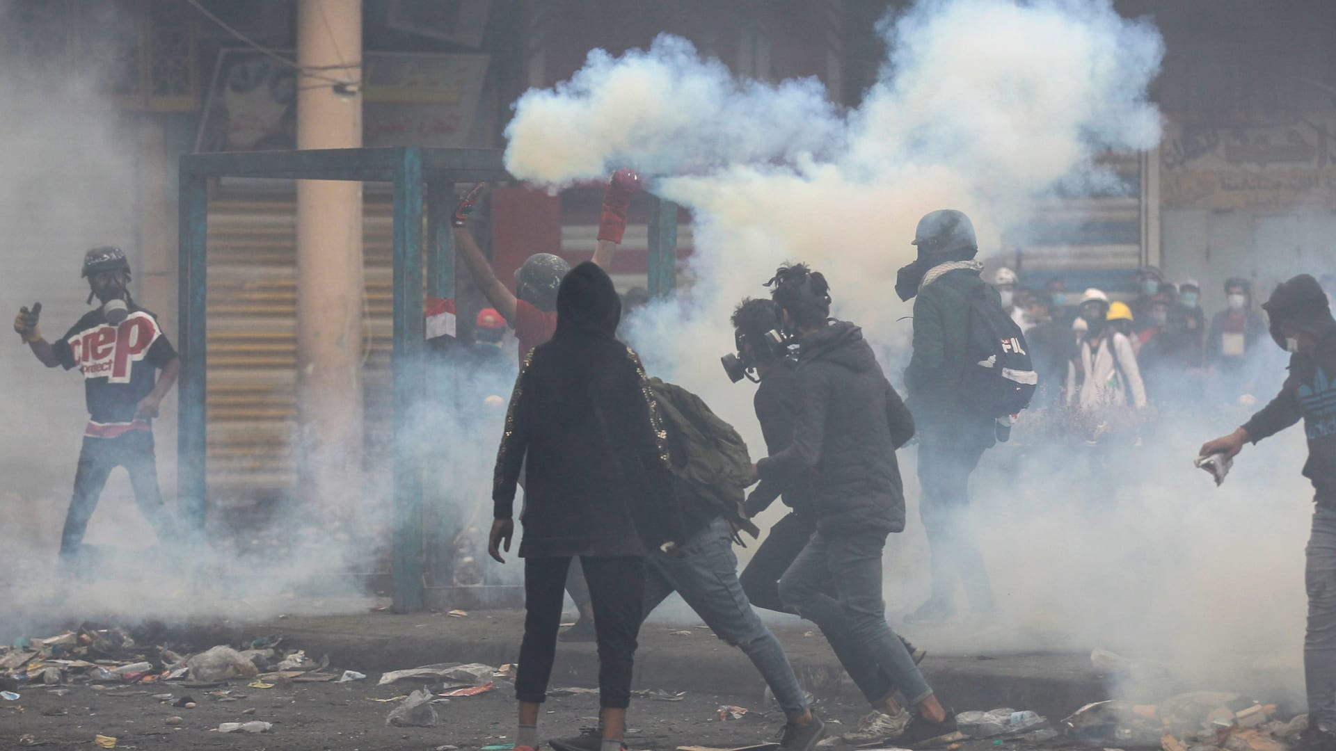 احتجاجات العراق.. تصاعد الغضب ضد التدخل الإيراني