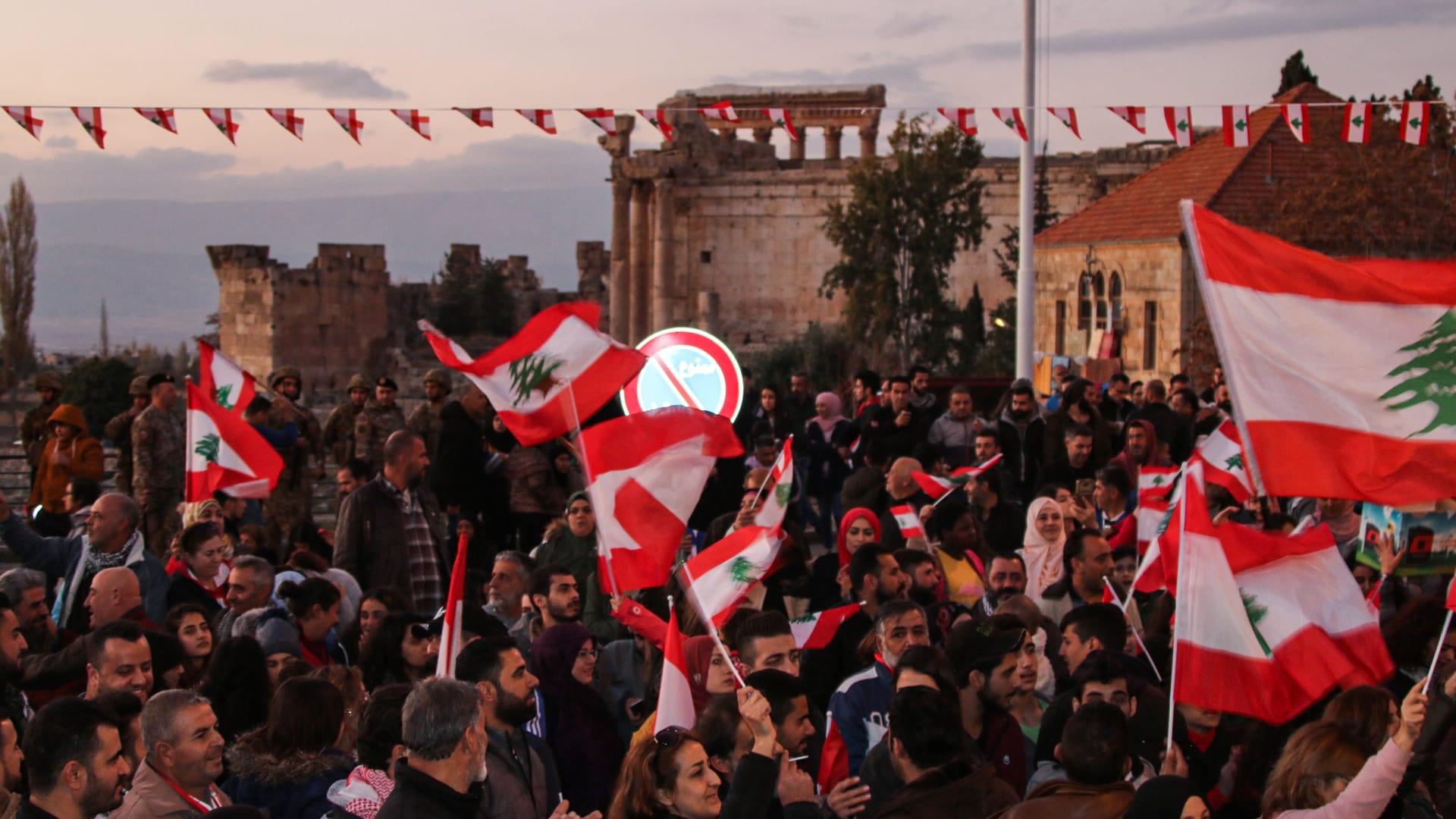 لبنانيات يكسرن الحواجز للتحذير من شبح الماضي: ليس مجددا
