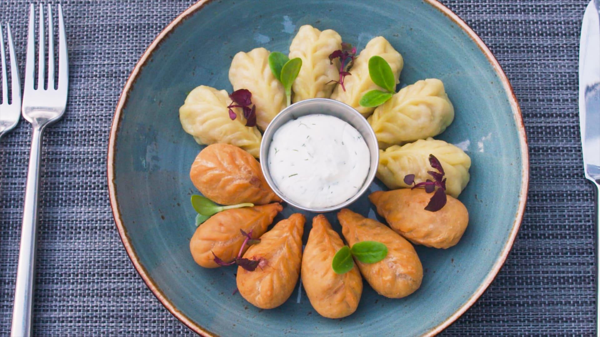 """طبق الـ""""غورزا"""" الأذربيجاني"""