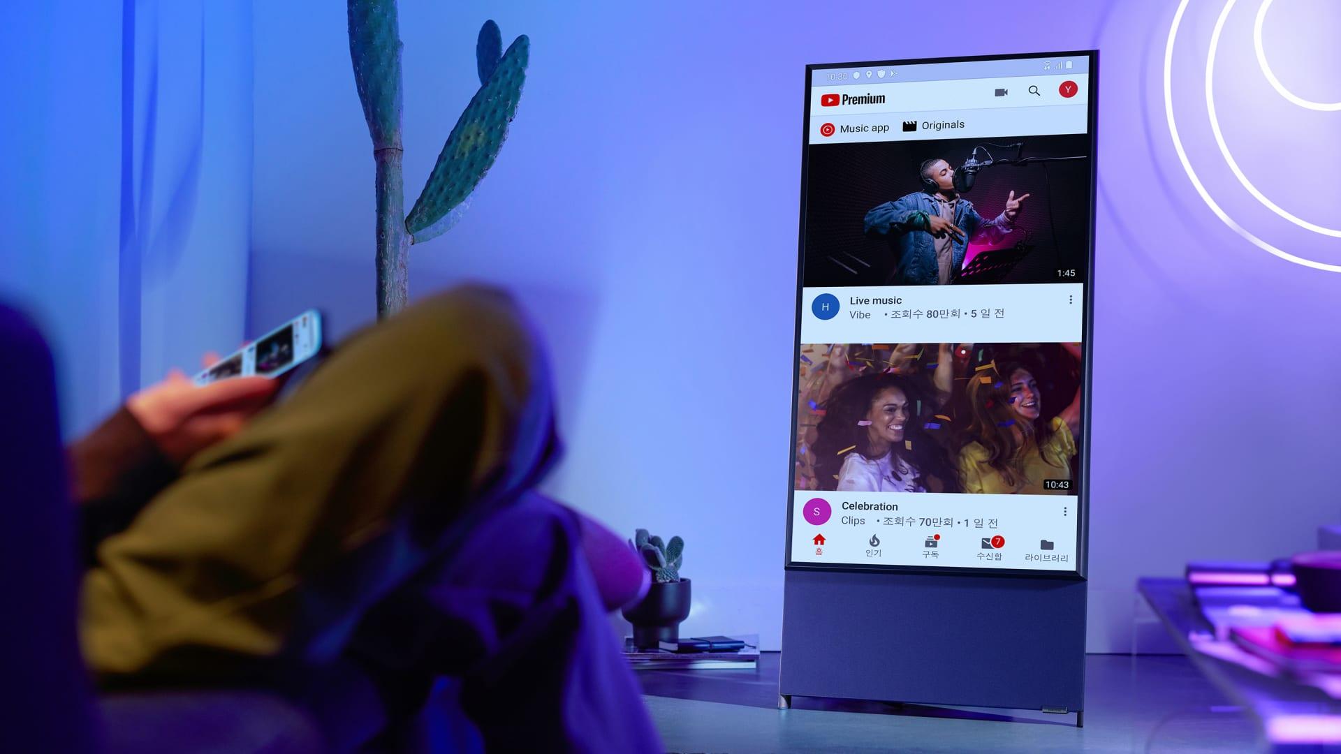 تلفاز جديد من سامسونغ صمم لجيل الألفية الجديد.. ماذا يميزه؟
