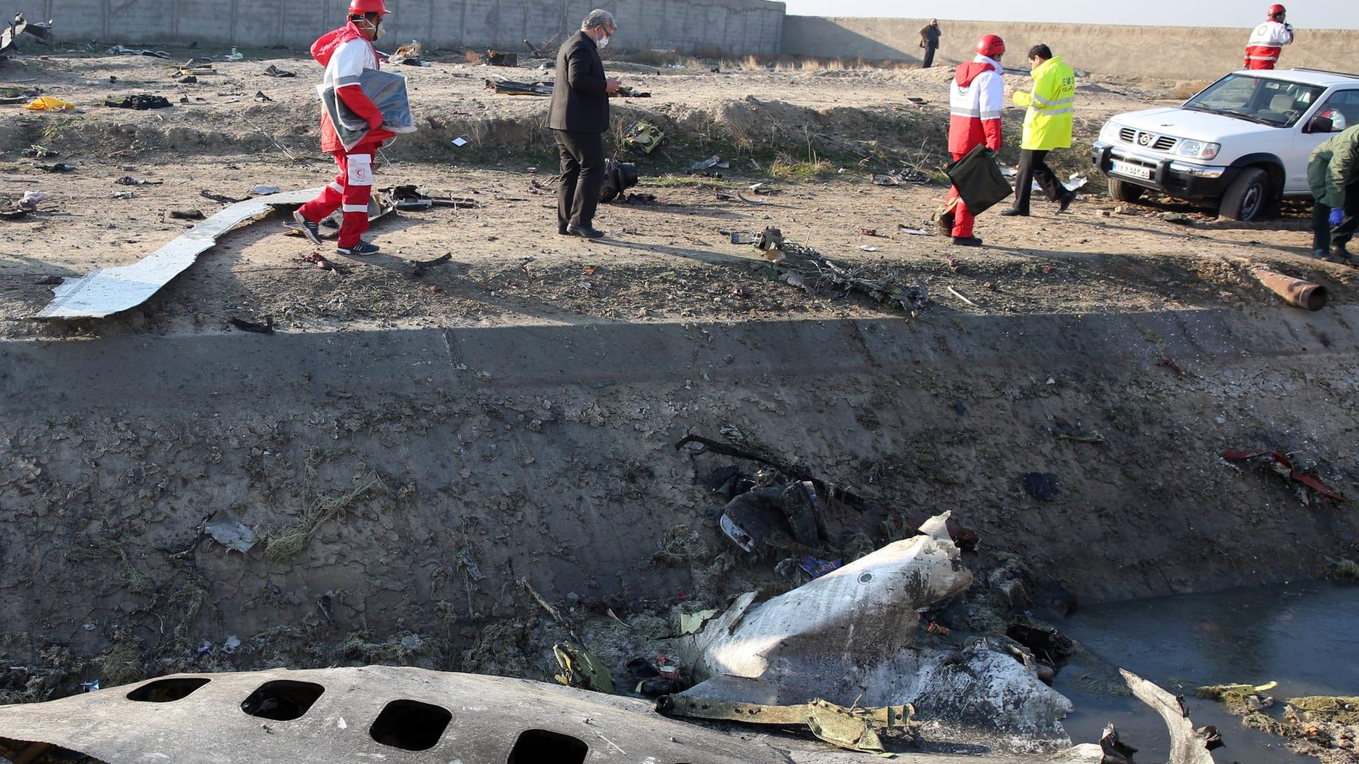 إيران تنفي إسقاط طائرة الركاب الأوكرانية بصاروخ