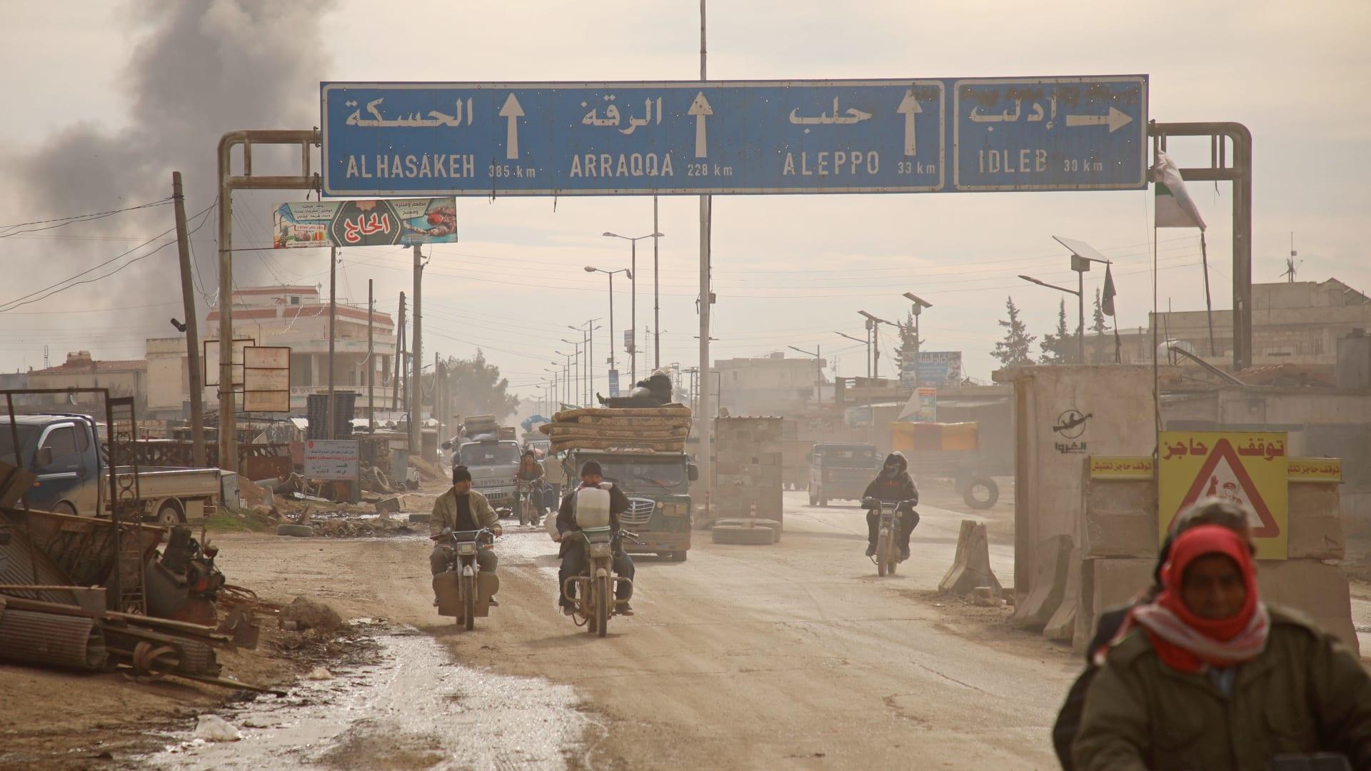 الأمم المتحدة: 350 ألف نازح بشمال غرب سوريا منذ ديسمبر