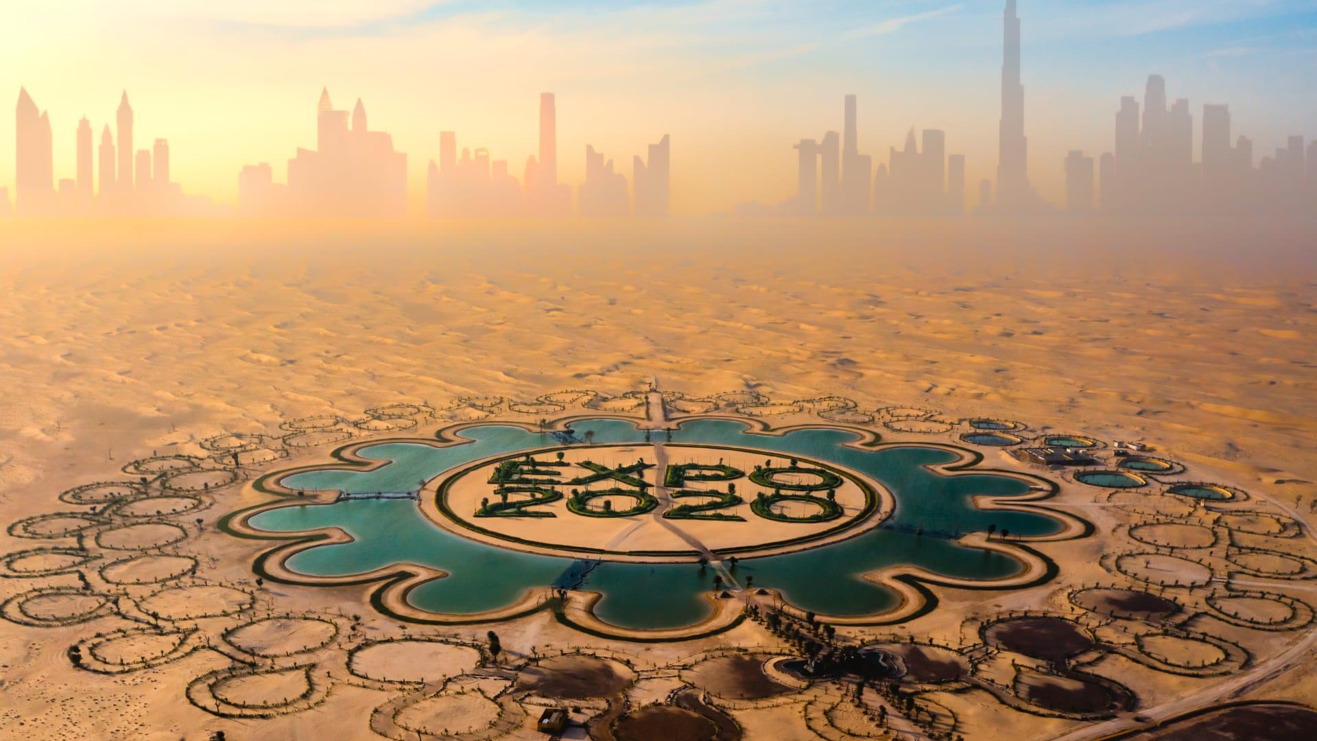 كيف يبدو موقع اكسبو 2020 في دبي؟