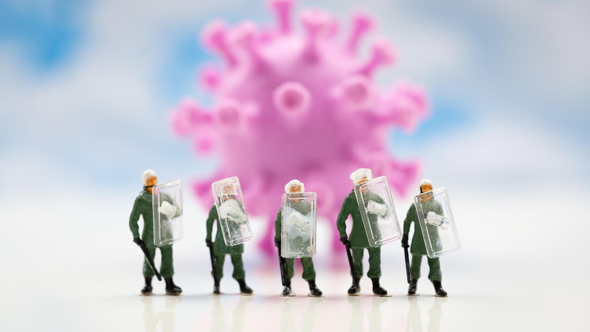 الحياة تستمر رغم فيروس كورونا..هذا ما أرادت هذه المصورة تذكيرنا به