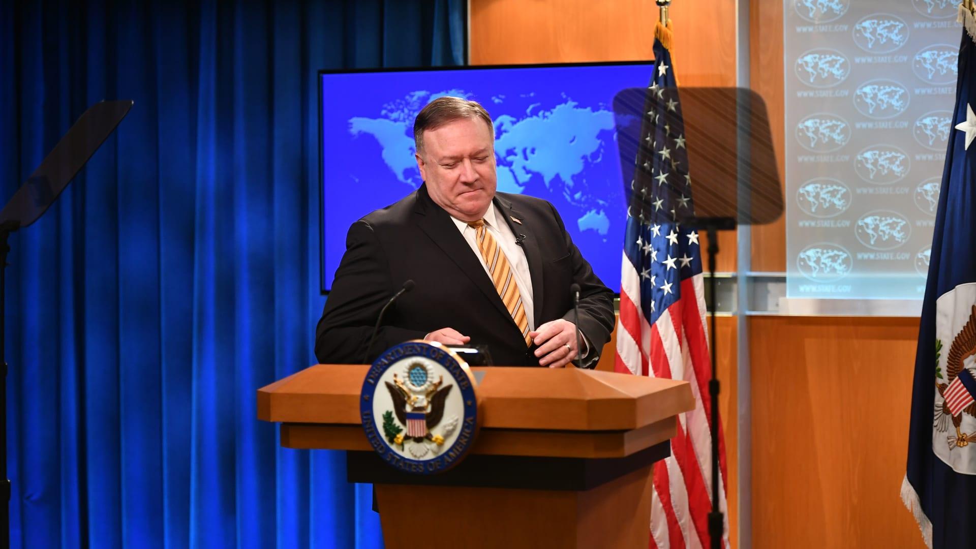 """القوة الضاربة الأمريكية في بحر الصين تتخذ إجراءات """"غير مسبوقة"""" بسبب كورونا"""