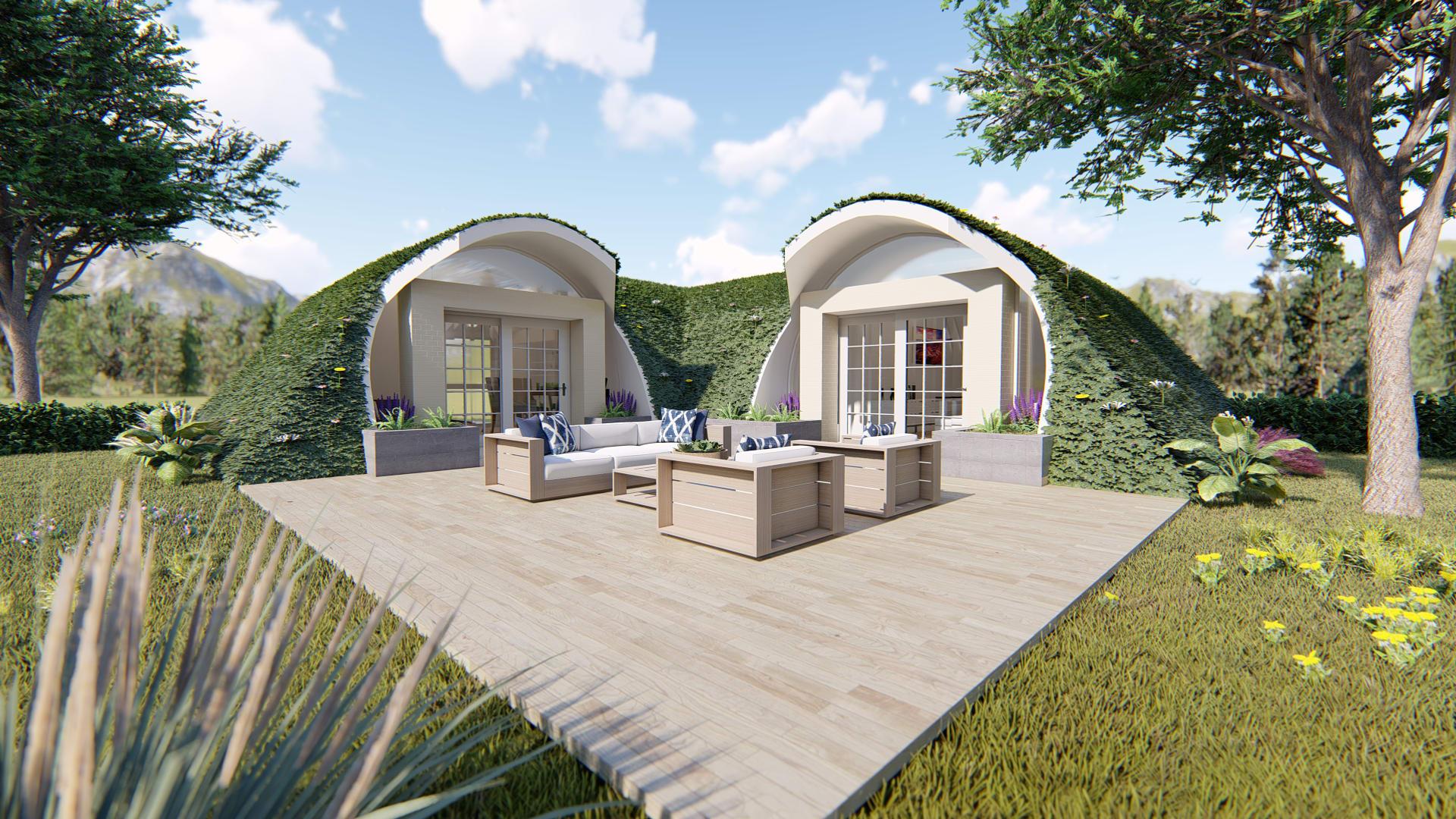 """مشروع """"البيوت الخضراء"""" - مجمع الشارقة للبحوث والتكنولوجيا والابتكار - الإمارات"""