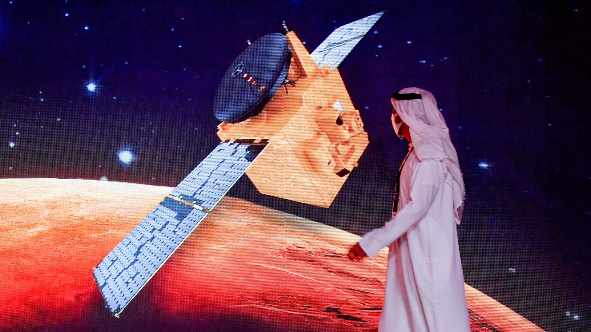 """""""إنجار كبير لدولة الإمارات""""..مسبار """"الأمل"""" جاهز للانطلاق إلى المريخ"""