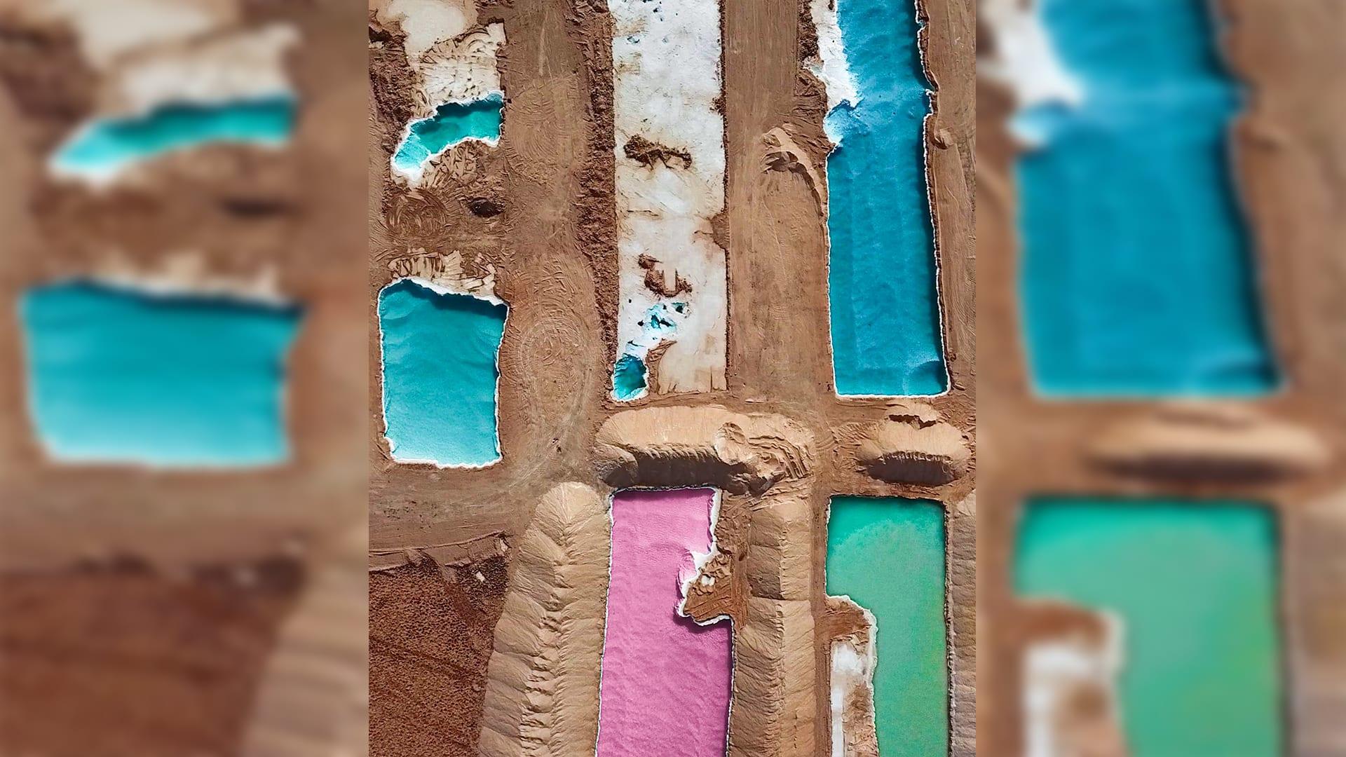 بحيرات الملح في واحة سيوة، مصر - المصور محمد السيد