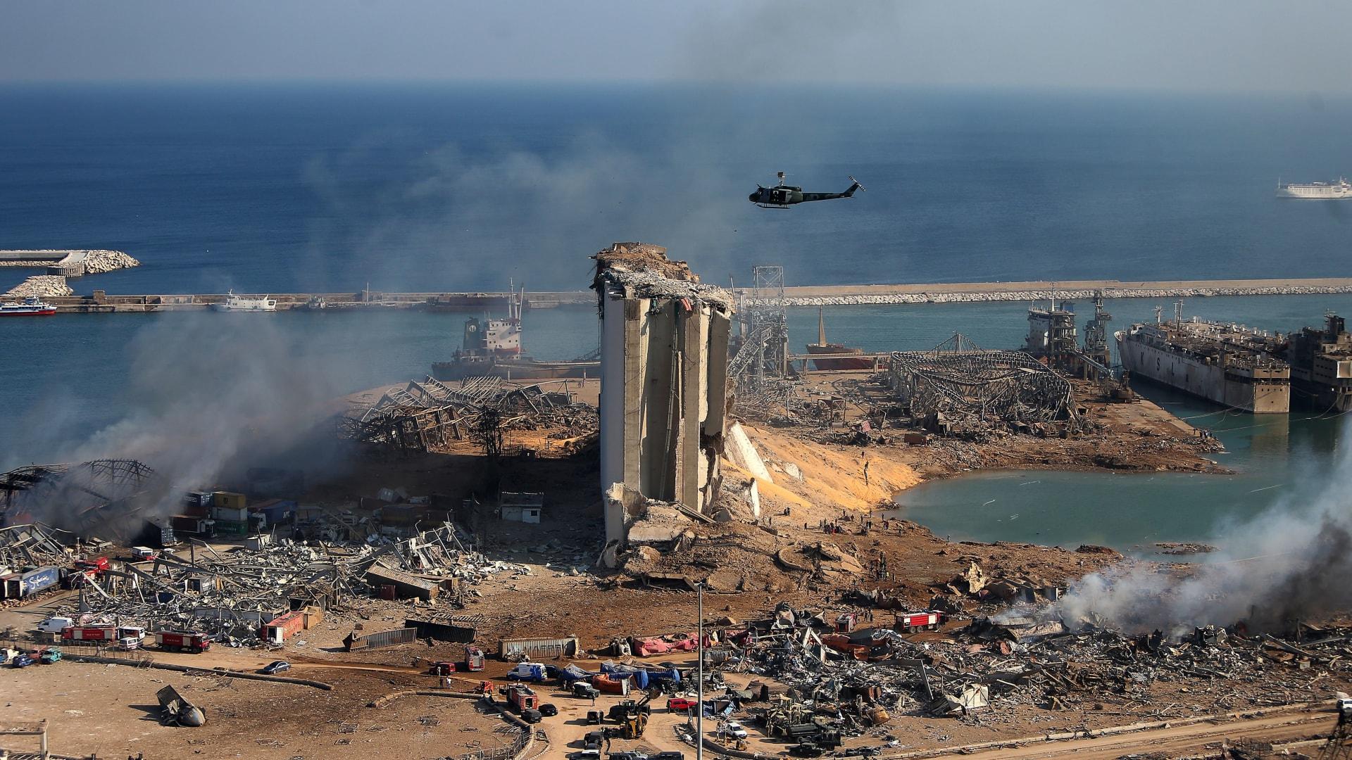ترامب: بعض جنرالاتنا يعتقدون أن انفجار بيروت كان هجوما