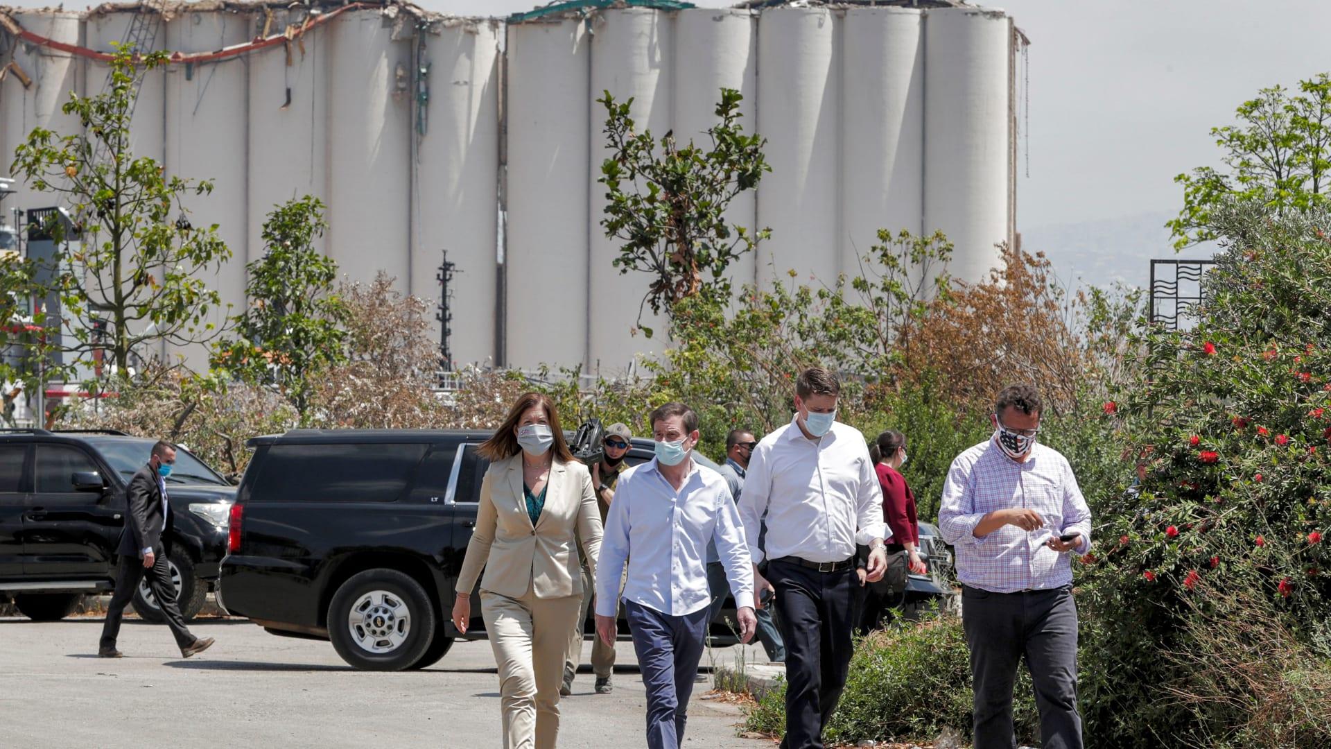 ديفيد هيل: مكتب التحقيقات الفيدرالي سيشارك في تحقيقات انفجار مرفأ بيروت
