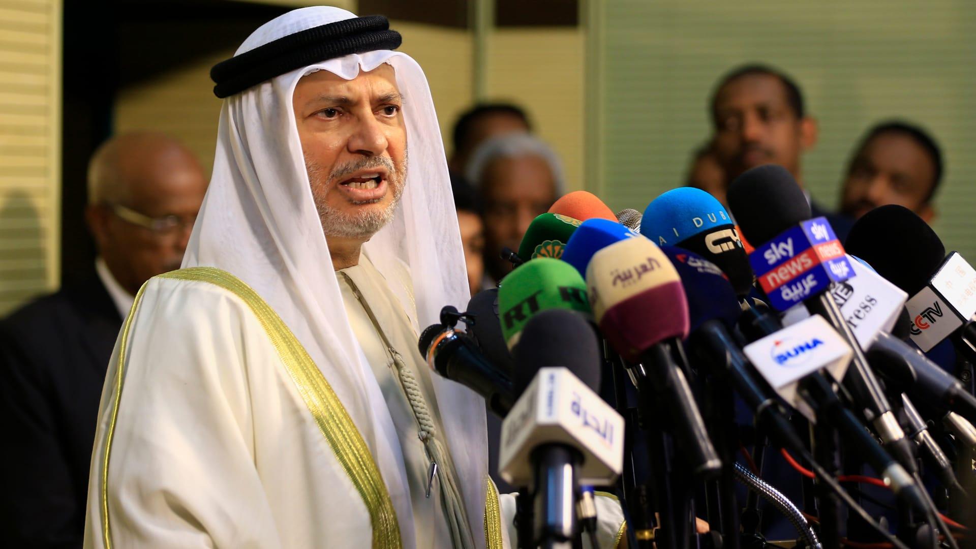 قرقاش يشرح لـCNN أبرز النقاط الجوهرية لاتفاق الإمارات مع إسرائيل
