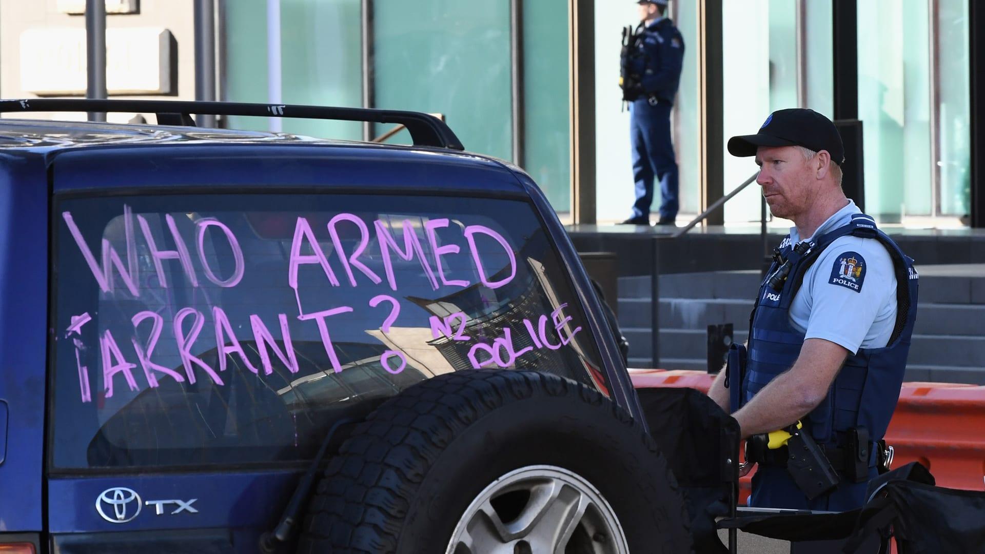 لحظة النطق بالحكم التاريخي ضد منفذ هجوم المسجدين في نيوزيلندا