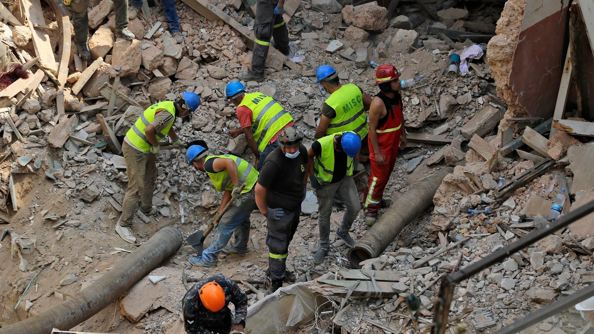 رئيس فريق الهلال الأحمر الكويتي في لبنان يوضح لـCNN الصعوبات على الأرض