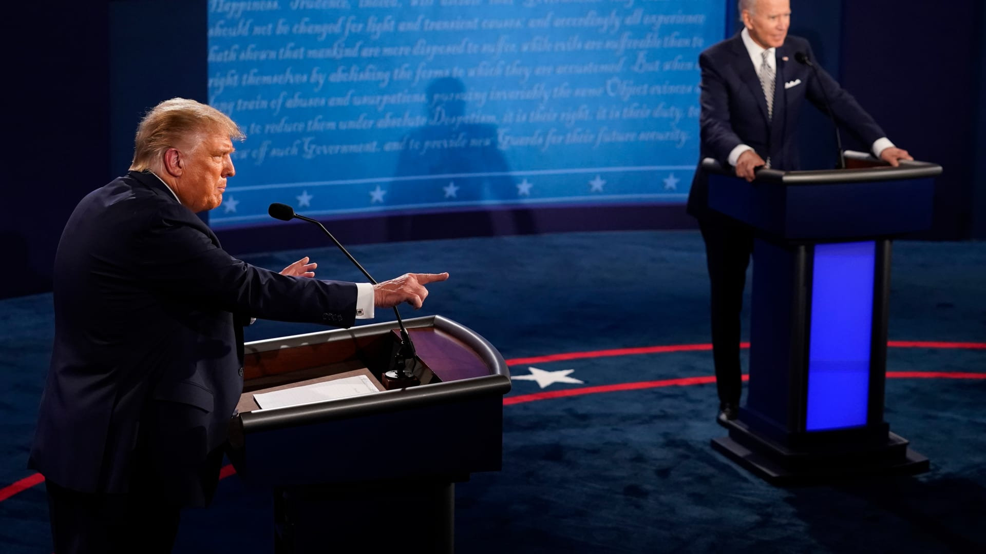 هكذا سخر مذيعو البرامج التلفزيونية من المناظرة الرئاسية الكارثية