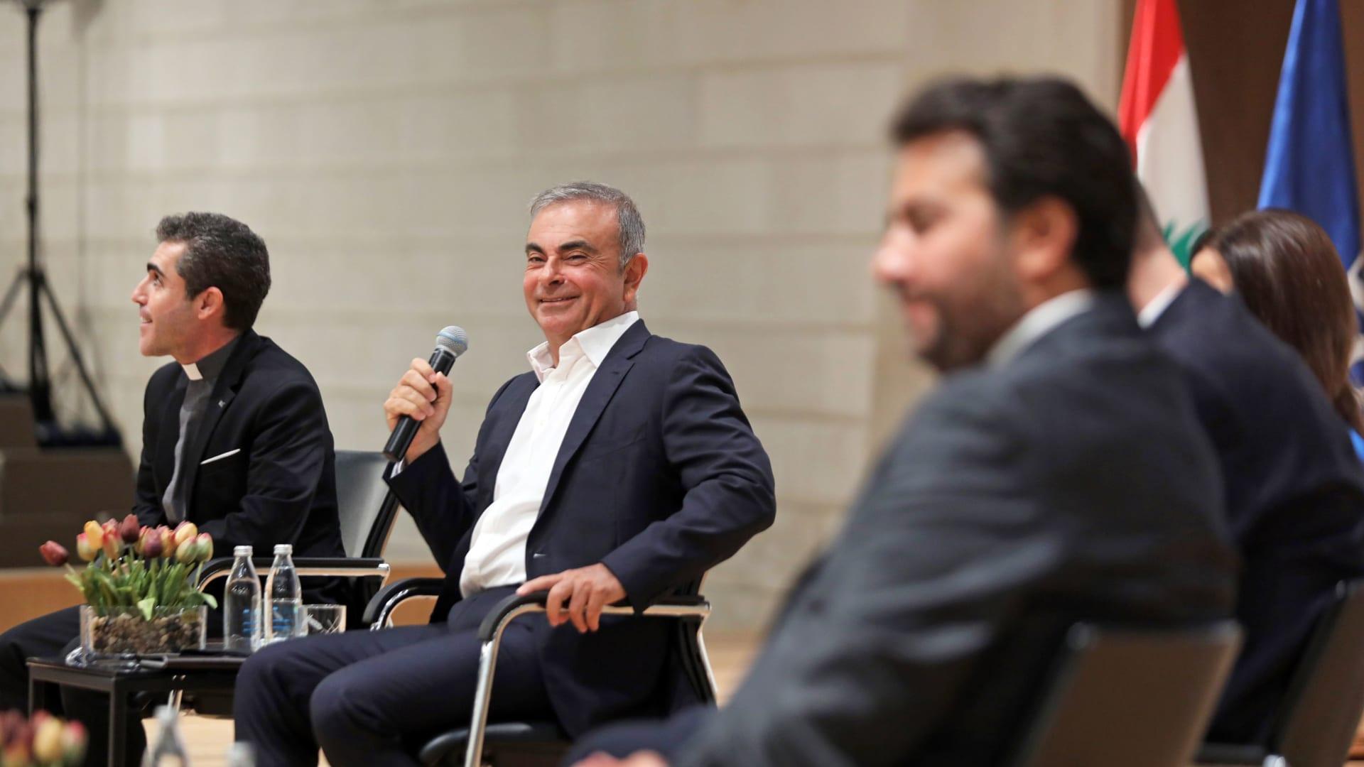 كارلوس غصن: أنا لست رجل سياسة ولكن مستعد لمساعدة لبنان