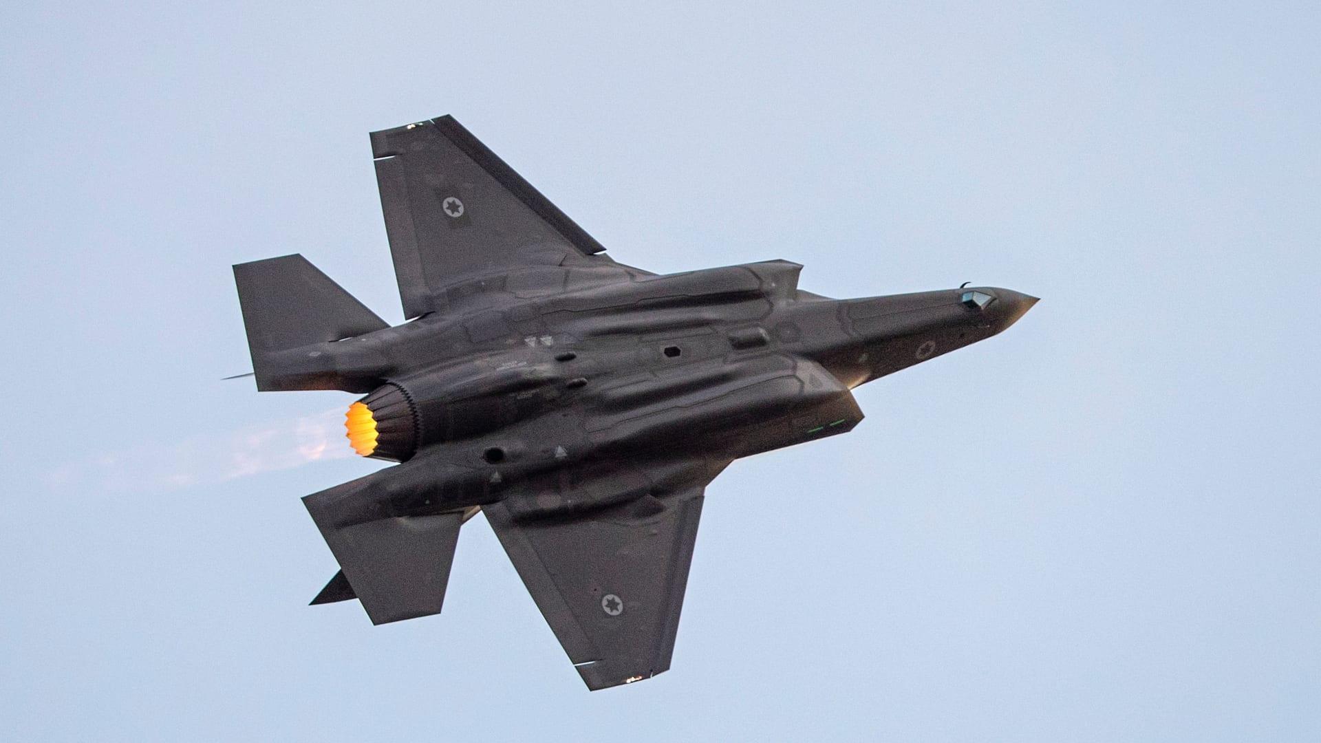 """أكاديمي إسرائيلي يوضح لـCNN """"المخاوف"""" من بيع مقاتلات F-35 للإمارات"""