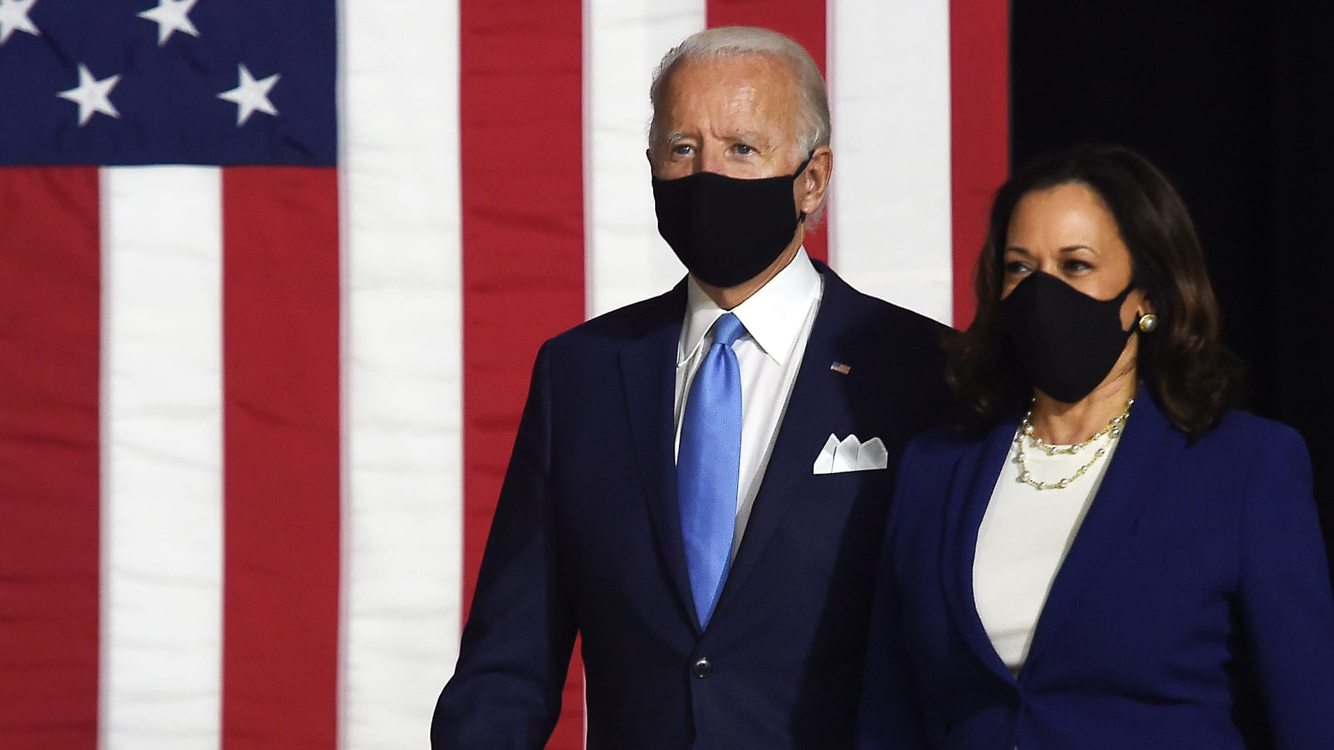شاهد لحظة إعلان مذيع CNN جو بايدن رئيساً للولايات المتحدة