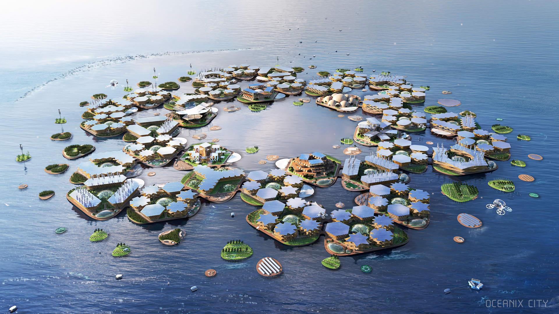 فيضانات افتراضية تغمر المدن في جميع أنحاء العالم
