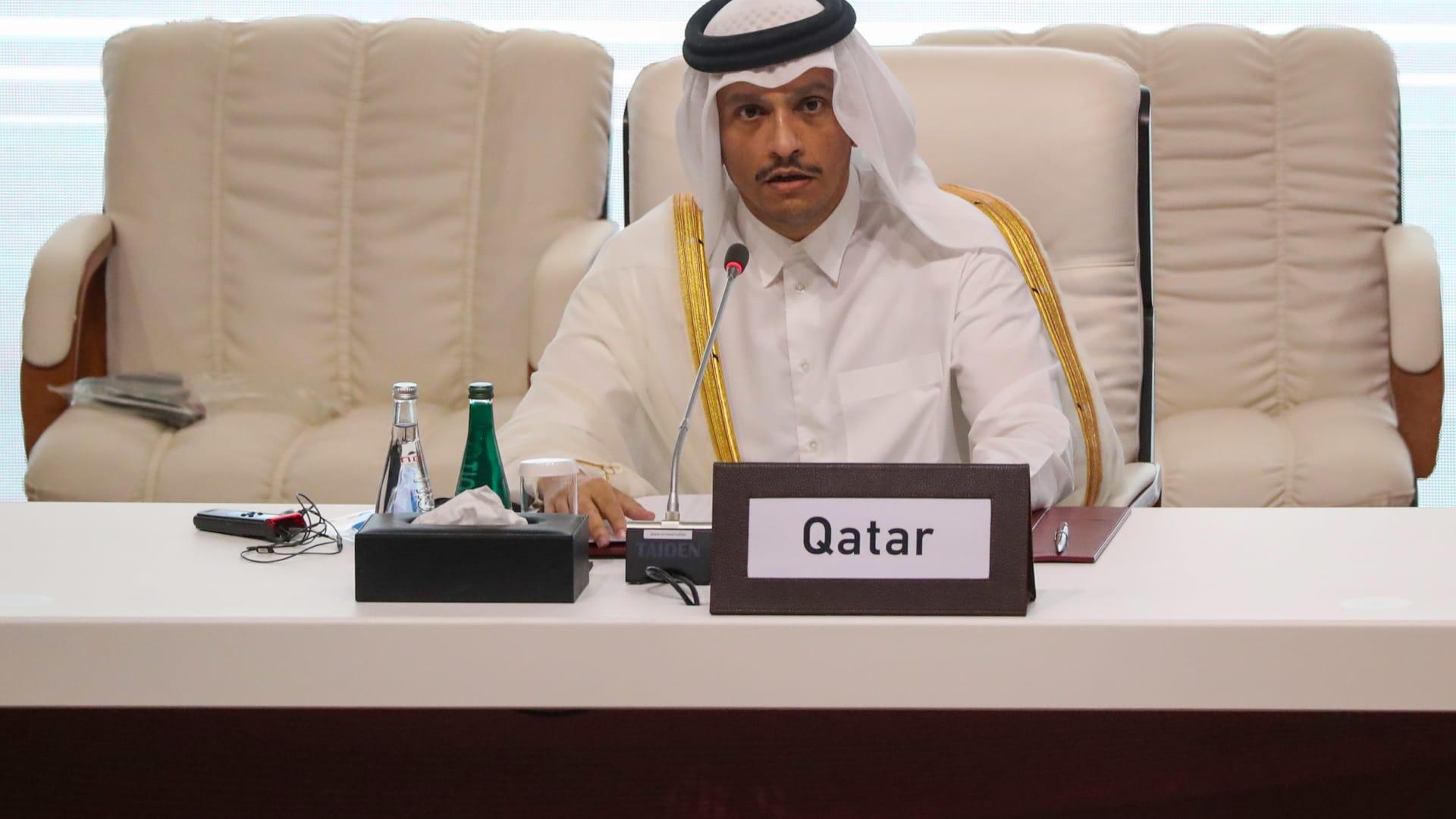 شاهد.. وزير خارجية قطر: وحدة الخليج مهمة جدًا لأمن المنطقة
