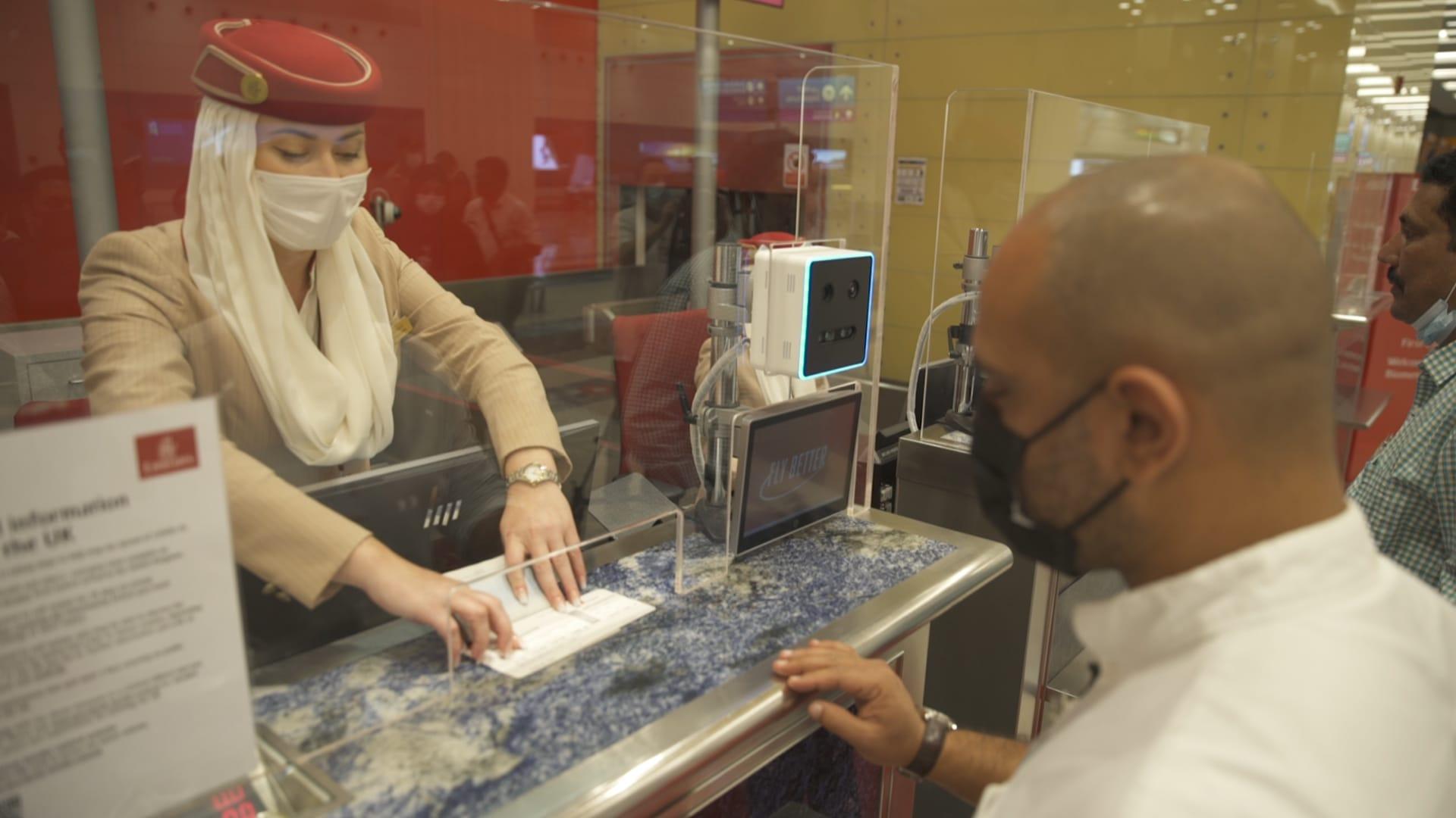 إجراءات السفر في مطار دبي