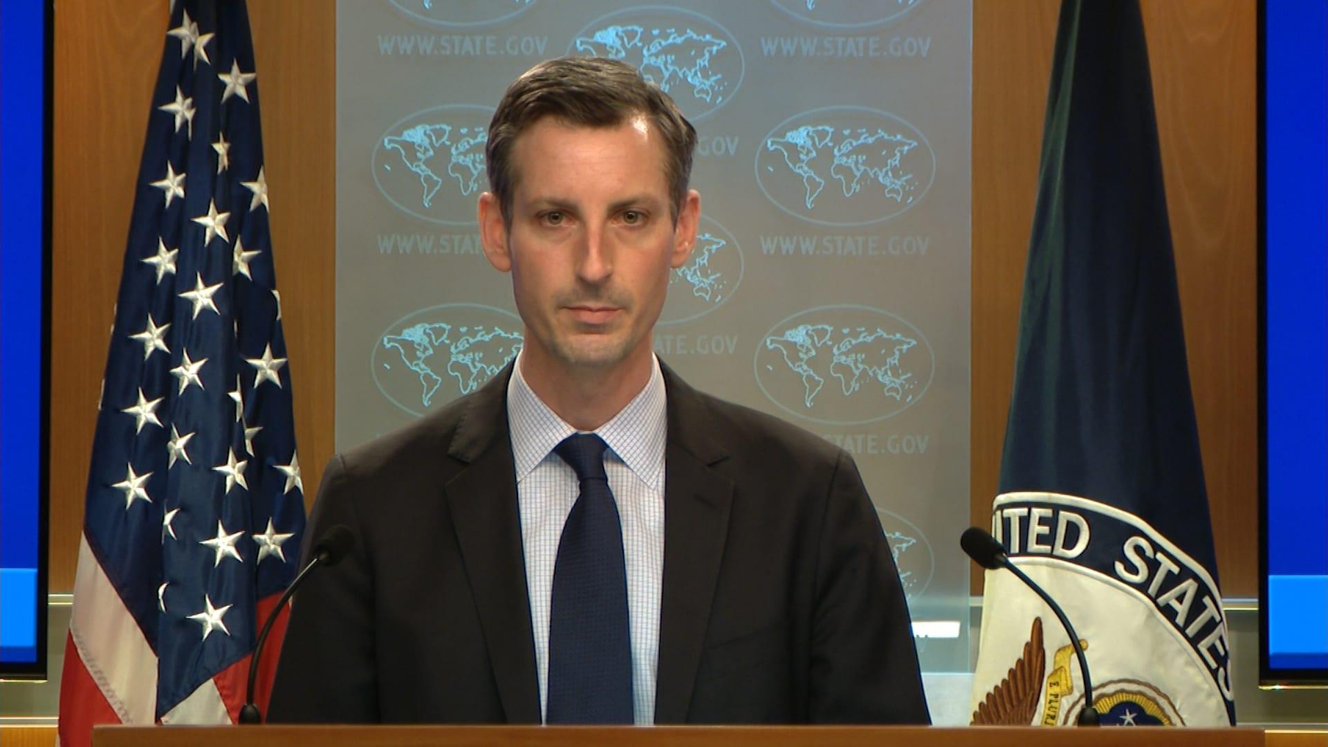 المتحدث باسم وزارة الخارجية نيد برايس