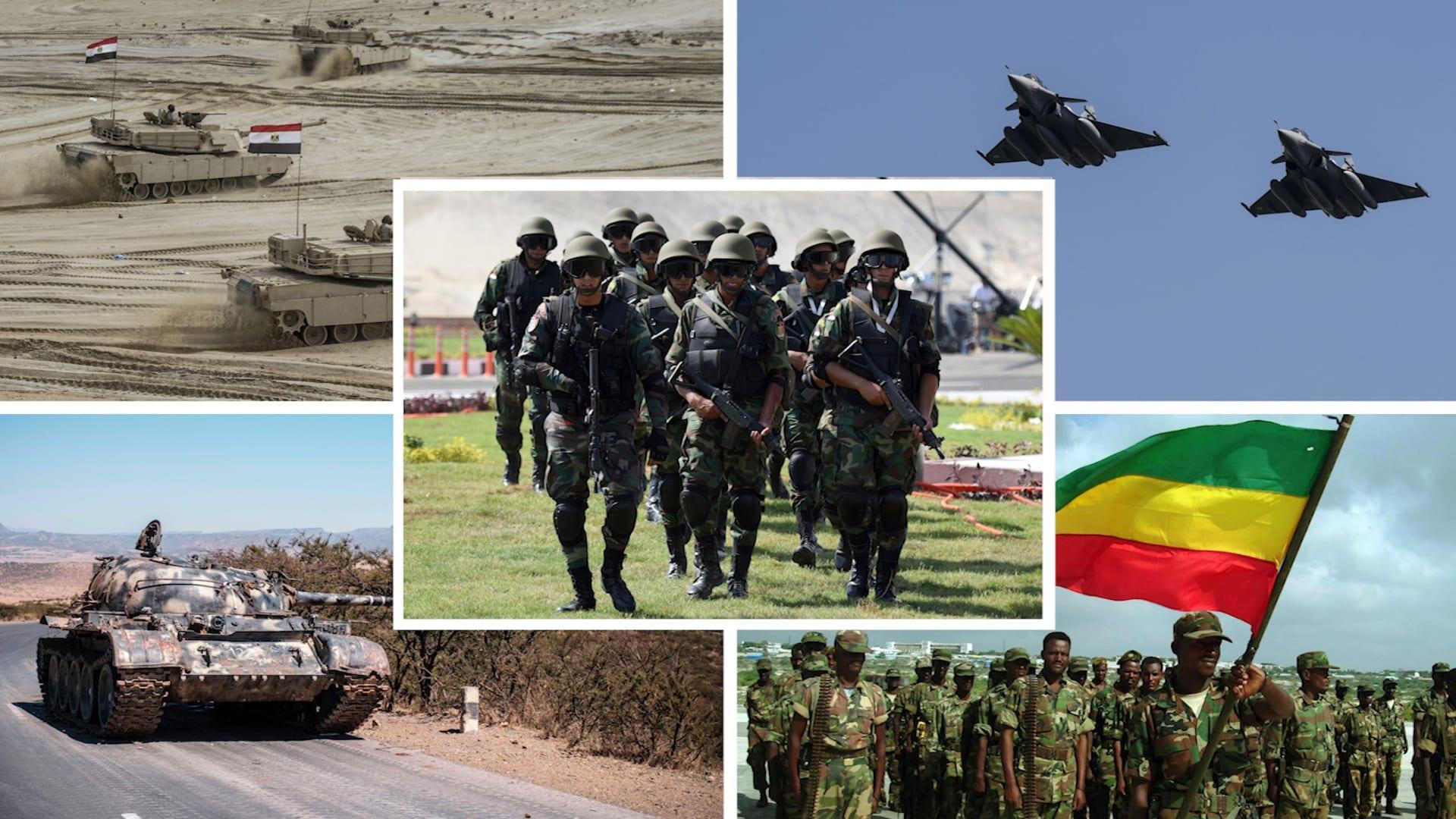 مقارنة بين الجيش المصري ونظيره الأثيوبي وفق إحصائية 2021