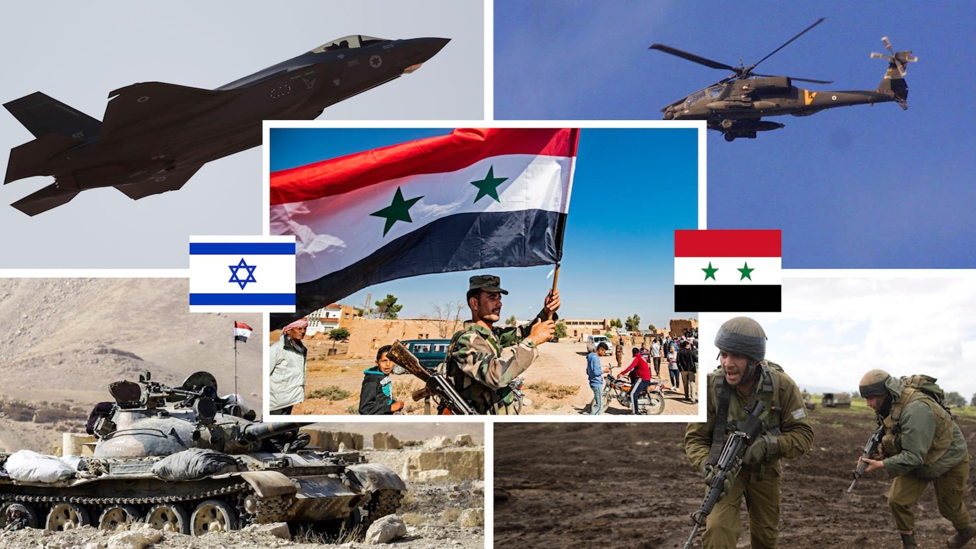 مقارنة بين الجيش السوري ونظيره الإسرائيلي وفق إحصائية 2021
