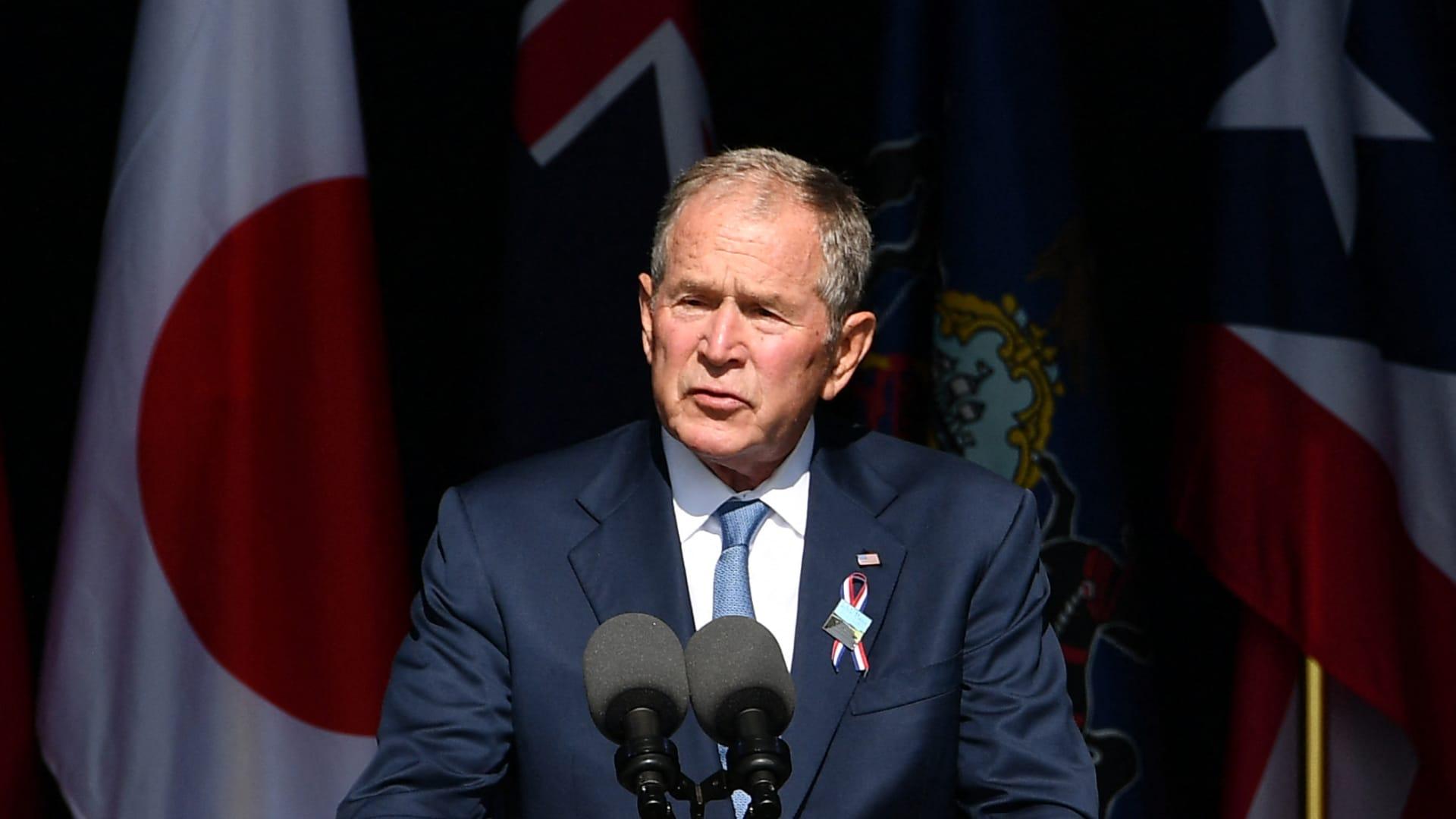 بوش في ذكرى هجمات 11 سبتمبر عن المتطرفين العنيفين في الداخل الأمريكي: إنهم نسل من نفس الروح الكريهة