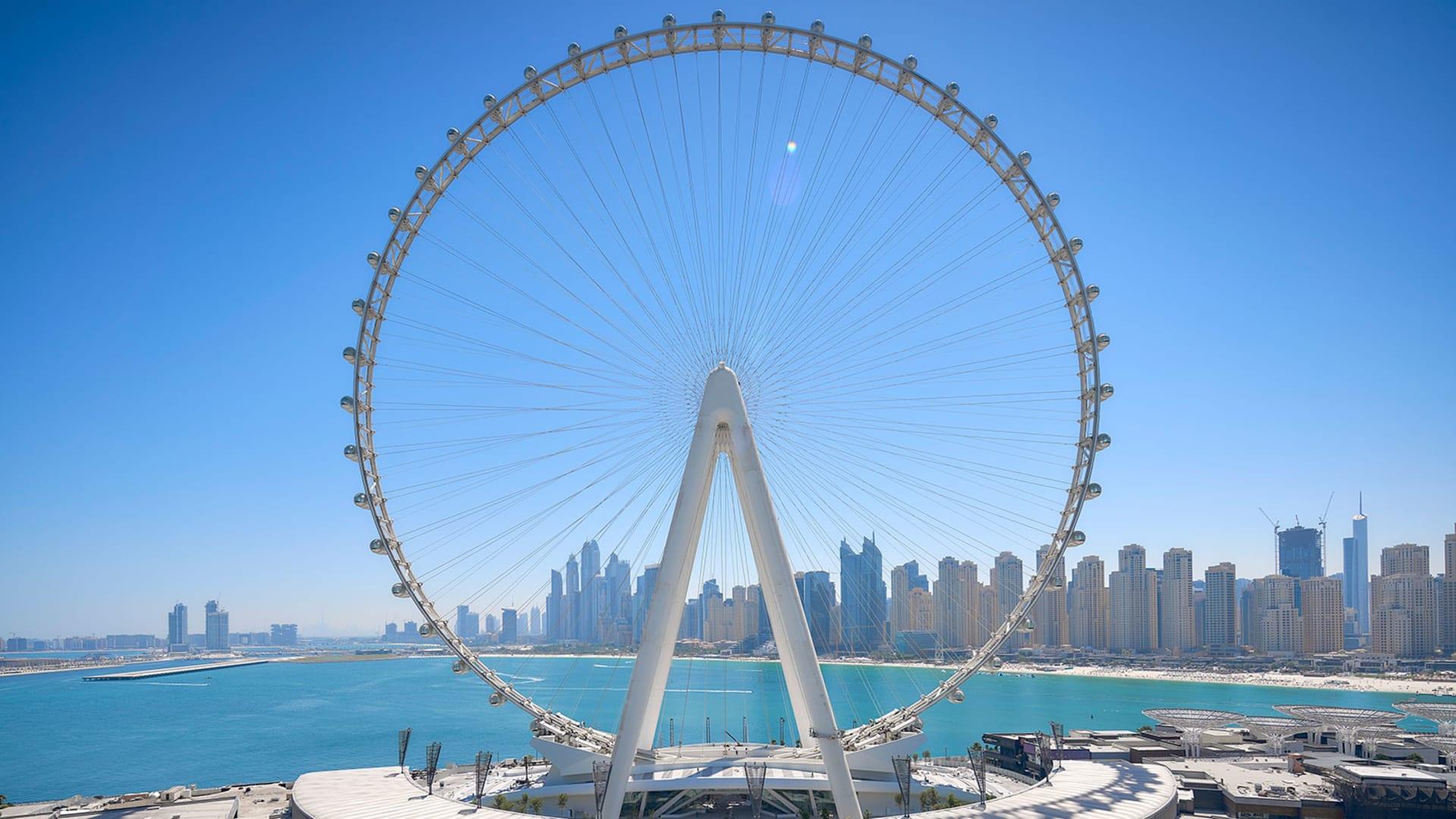 عين دبي.. هكذا بنيت أكبر عجلة مشاهدة بالعالم في الإمارات