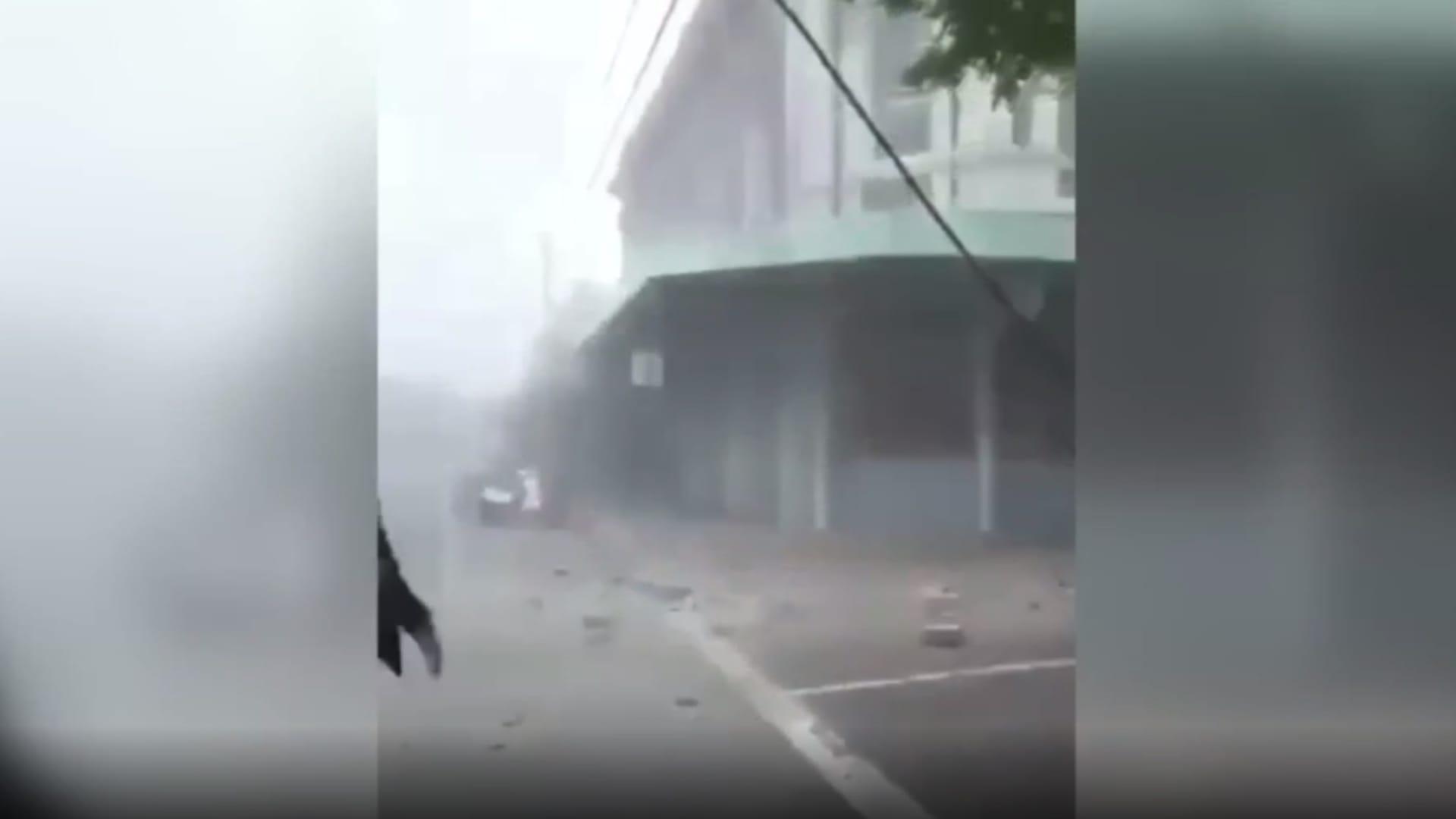 شاهد لحظة وقوع زلزال عنيف في جنوب شرق أستراليا