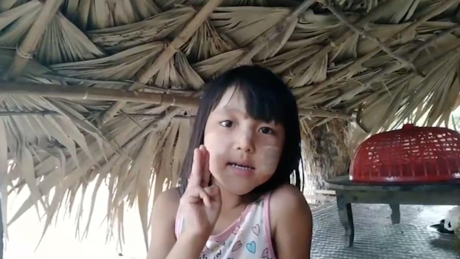 لعدم تمكنه من اعتقال والدها.. جيش ميانمار يعتقل طفلته بعمر 5 سنوات