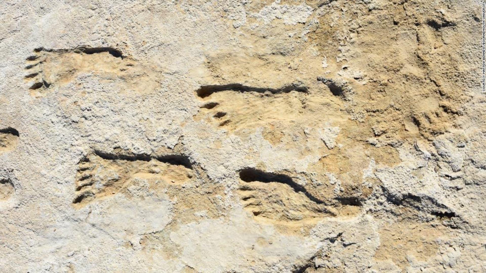 اكتشاف آثار أقدام يعود تاريخها إلى 23 ألف عام في أمريكا.. ما الذي تبينه؟