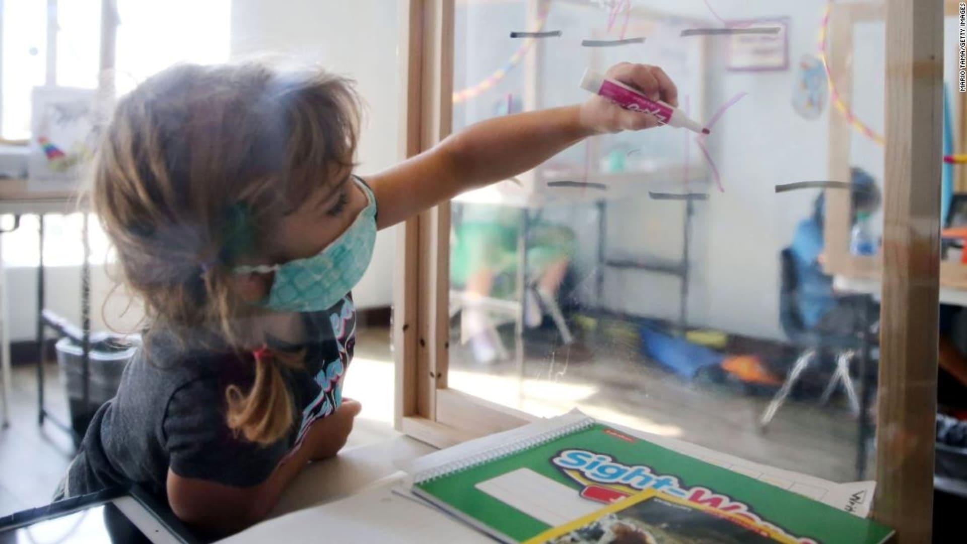 دراسة أمريكية: عدم ارتداء الكمامات في المدراس يزيد خطر الإصابة بكورونا بأكثر من 3 أضعاف