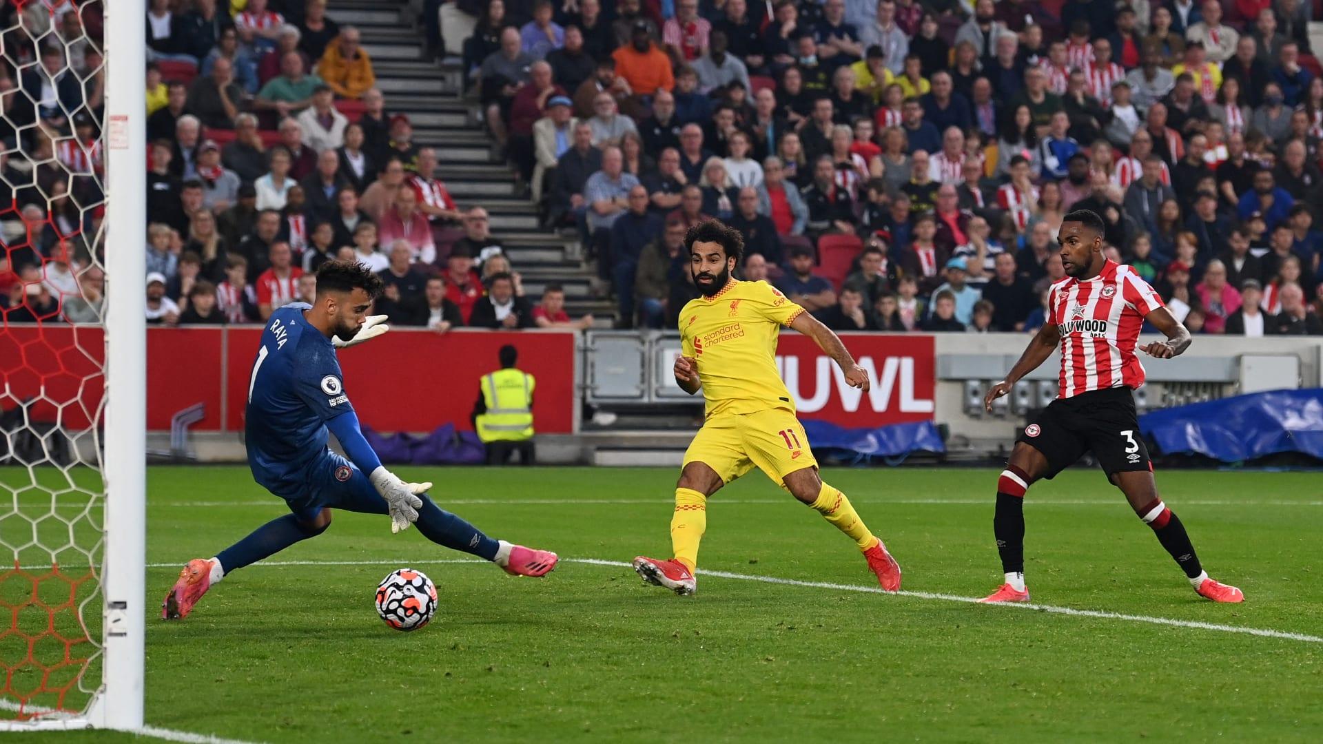 محمد صلاح أسرع لاعب يسجل الهدف رقم 100 في تاريخ ليفربول الإنجليزي
