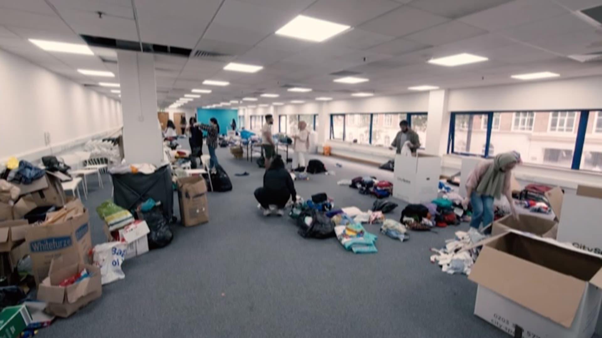 كيف أصبحت فنادق لندن منازل مؤقتة لمئات اللاجئين الأفغان؟