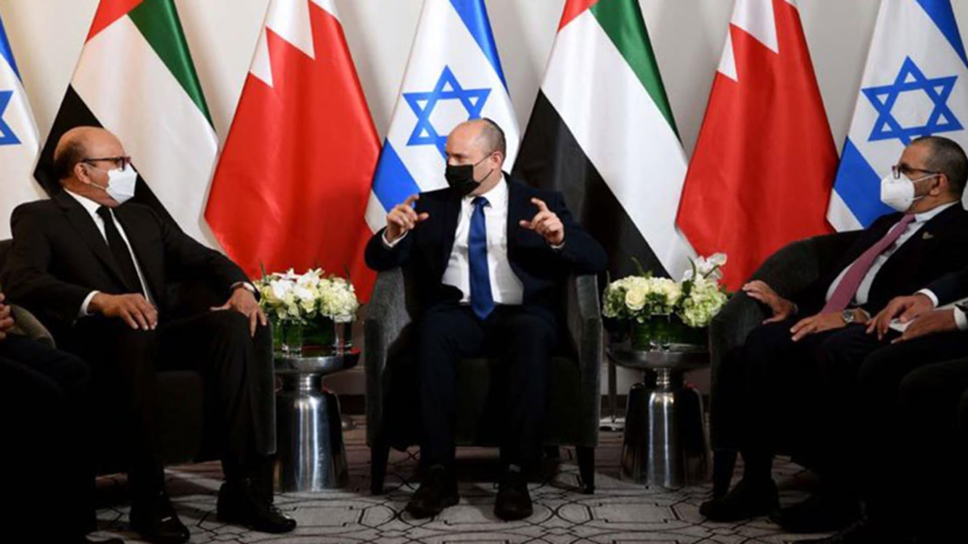 رئيس وزراء إسرائيل يلتقي وزيرين إماراتي وبحريني في نيويورك