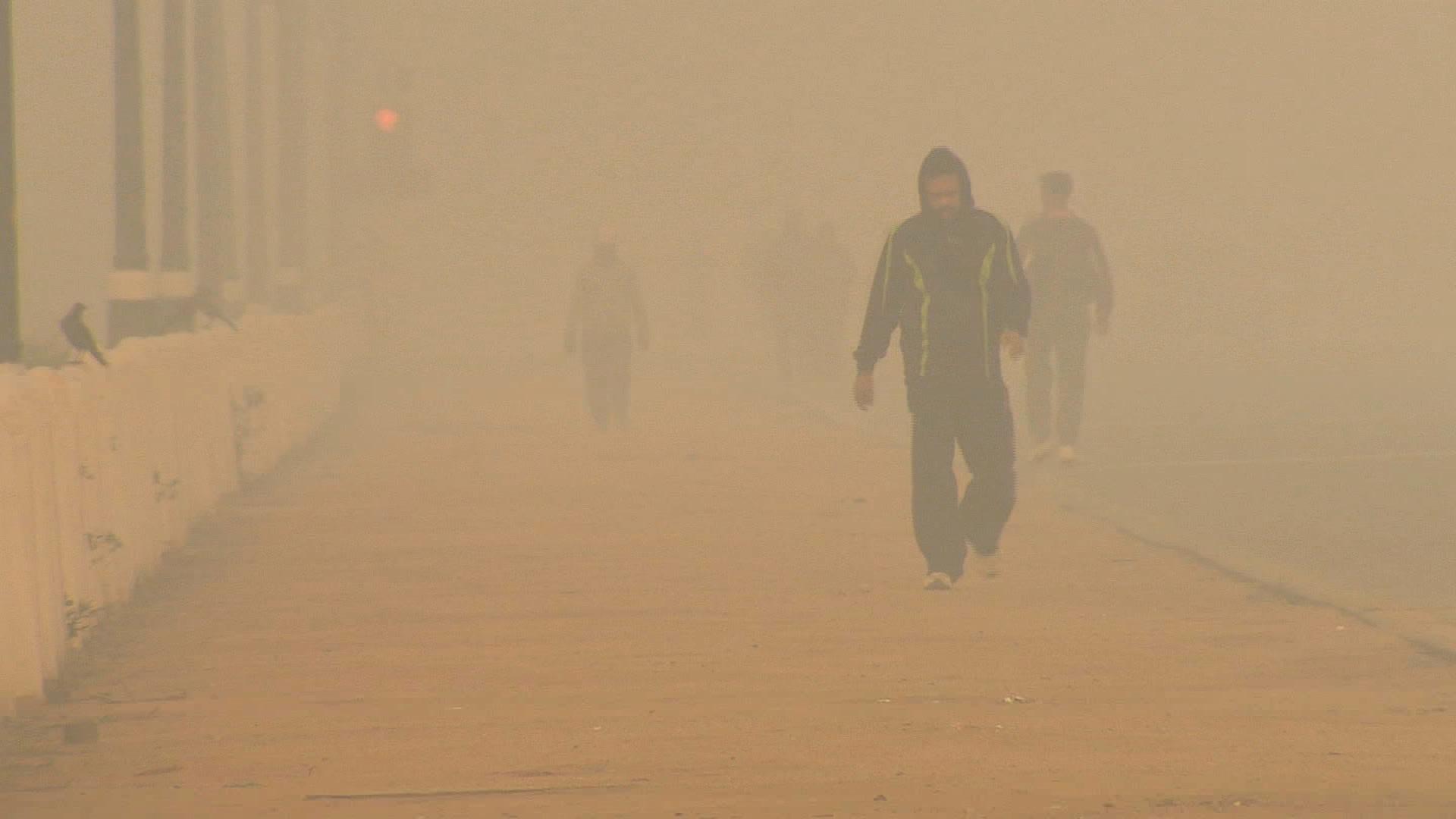 تلوث هواء دلهي هو الأسوأ على وجه الأرض