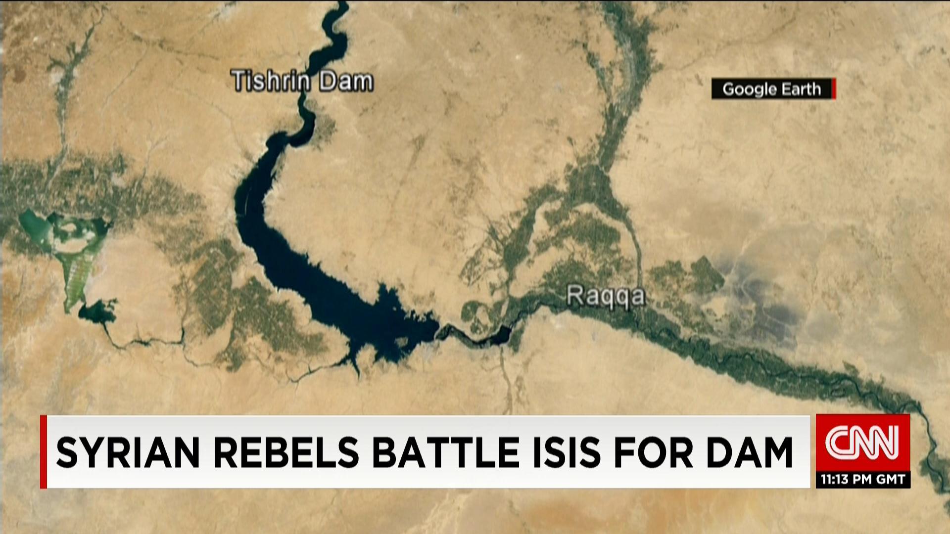 """القوات السورية تسيطر على """"سد تشرين"""".. ومسؤول أمريكي: خط إمداد رئيسي لعاصمة داعش بالرقة"""