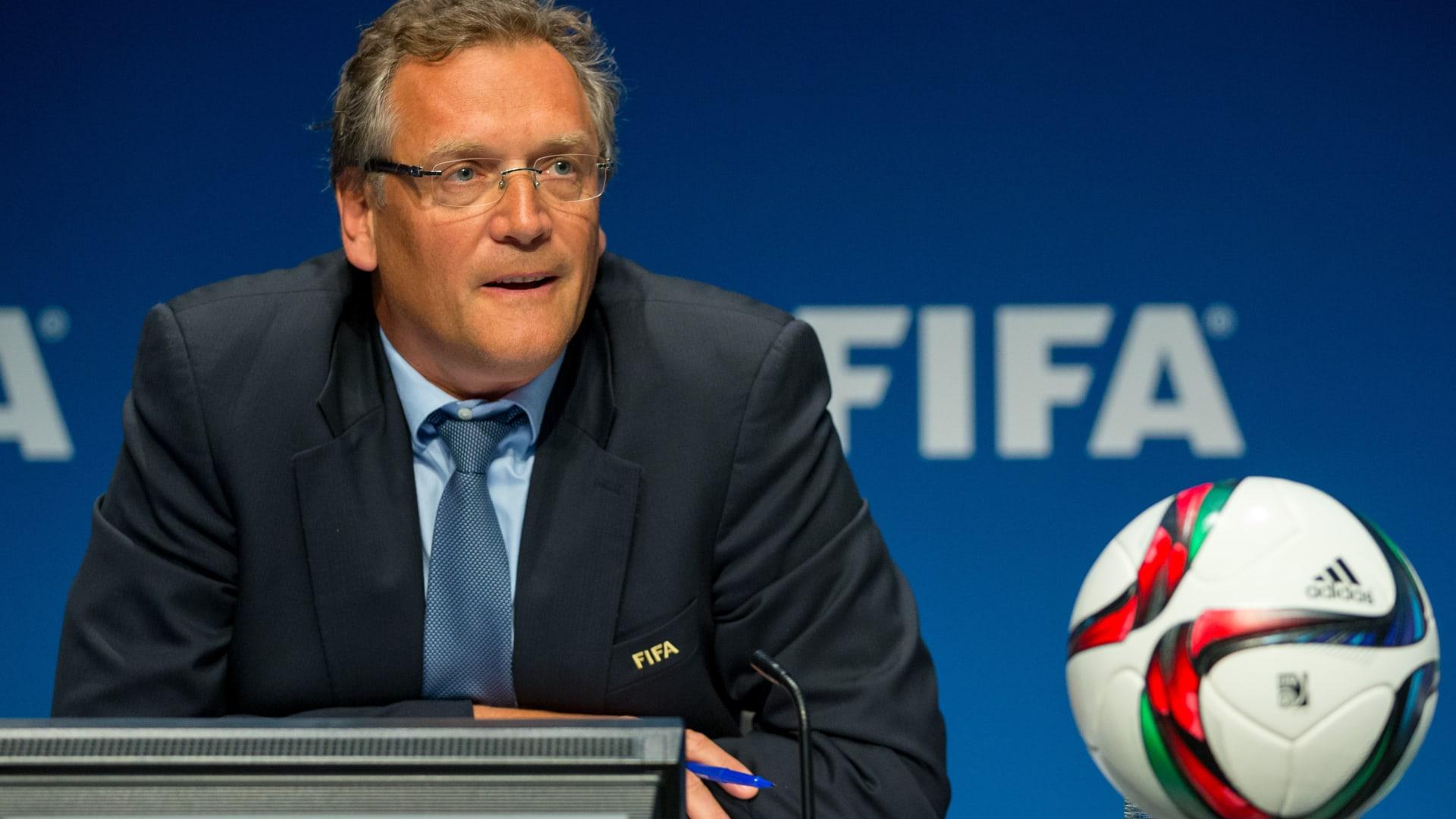الفيفا: إقالة جيروم فالكه من منصبه كأمين عام للاتحاد الدولي لكرة القدم
