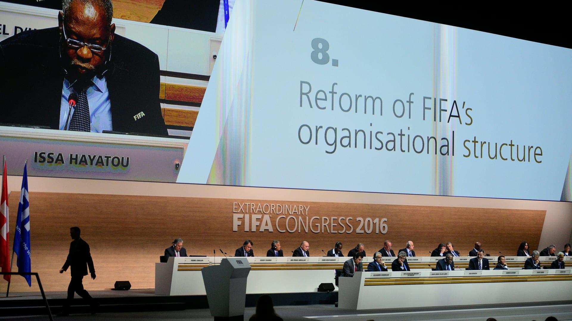 الموافقة بأغلبية ساحقة على الإصلاحات الجديدة المقترحة في اجتماعات الفيفا
