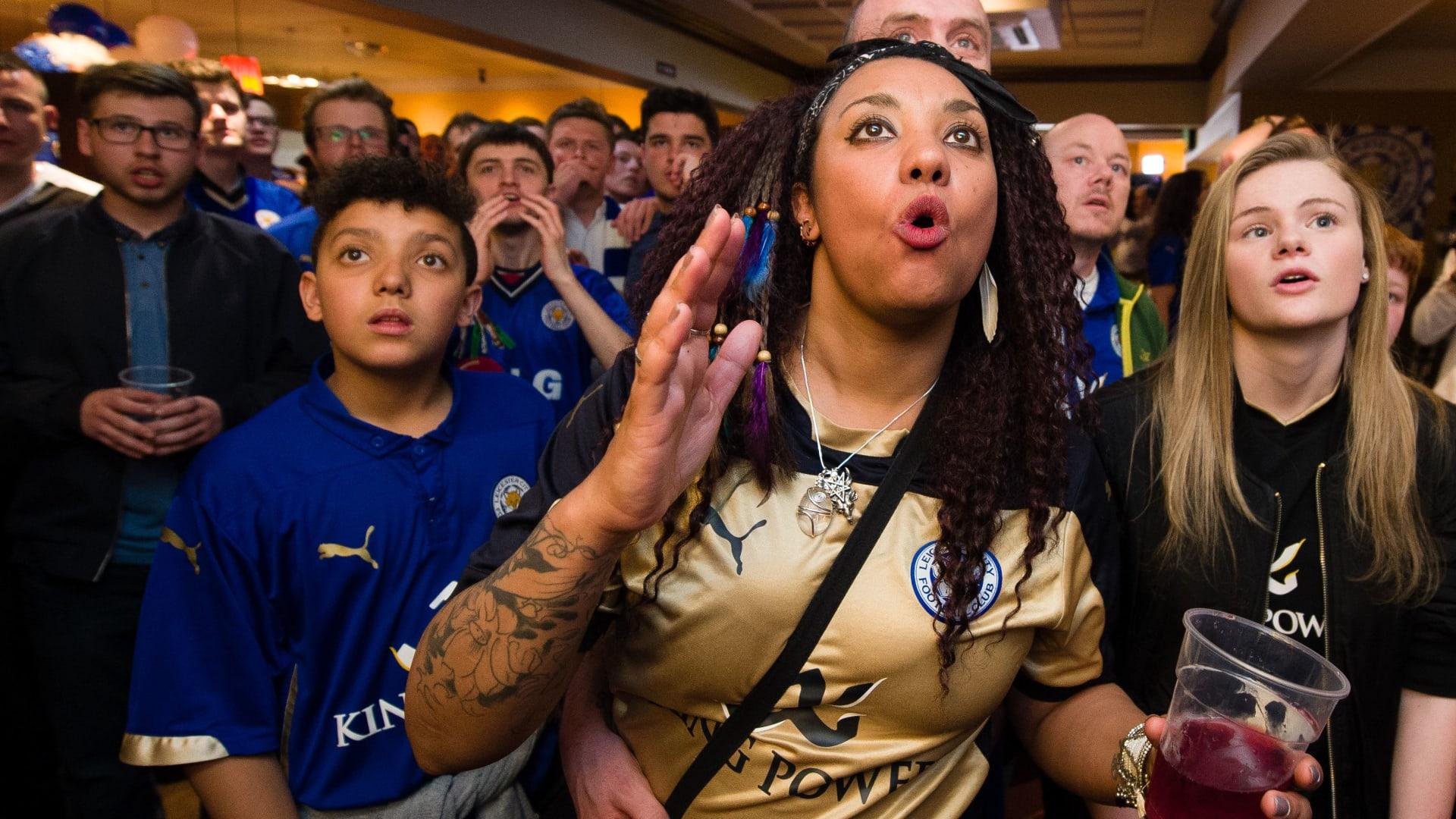 بالصور: مانشستر يونايتد يؤجل حلم ليستر سيتي بالتتويج على مسرح الأحلام