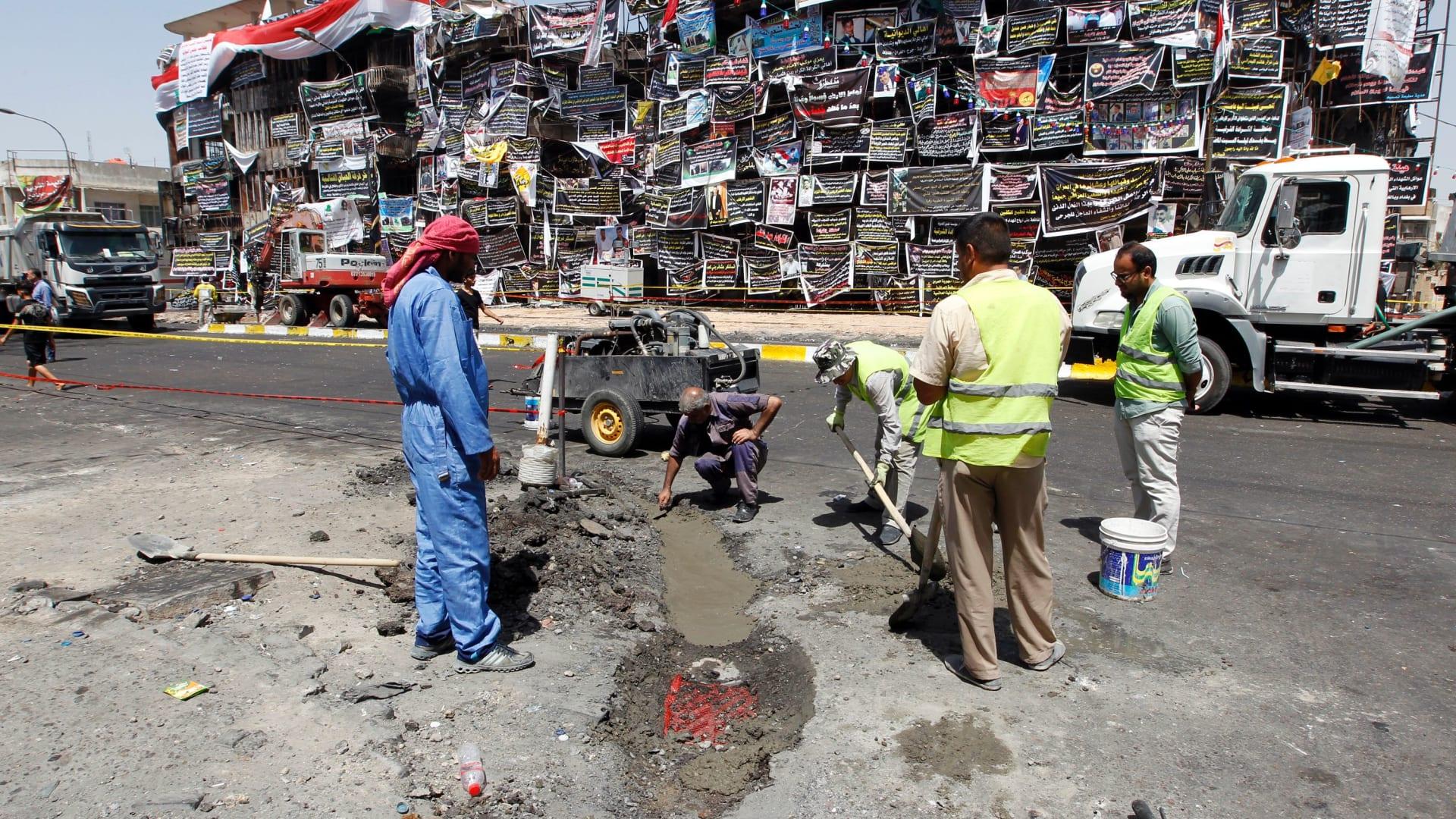 بعد أيام من تفجير الكرادة.. قتلى وجرحى إثر انفجار سيارة مفخخة بحي شيعي في شمال بغداد