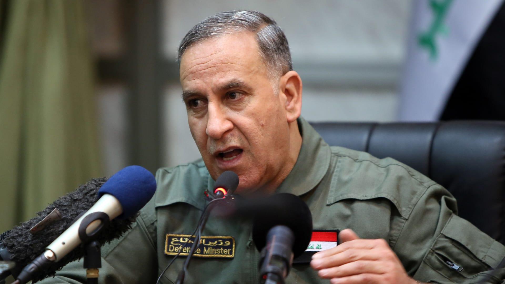 رئيس مجلس النواب يعلن إقالة وزير الدفاع خالد العبيدي بأغلبية الأصوات