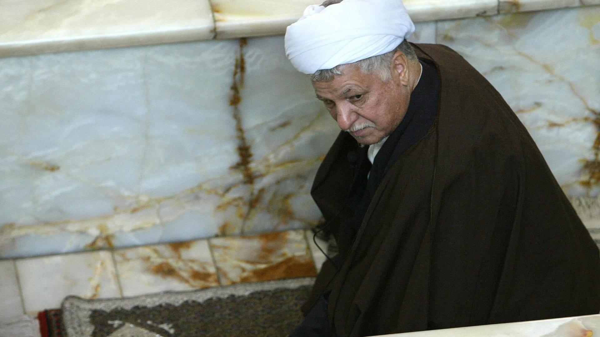 تتلمذ على يد الخميني وسُجن 4 سنوات.. من كان هاشمي رفسنجاني؟