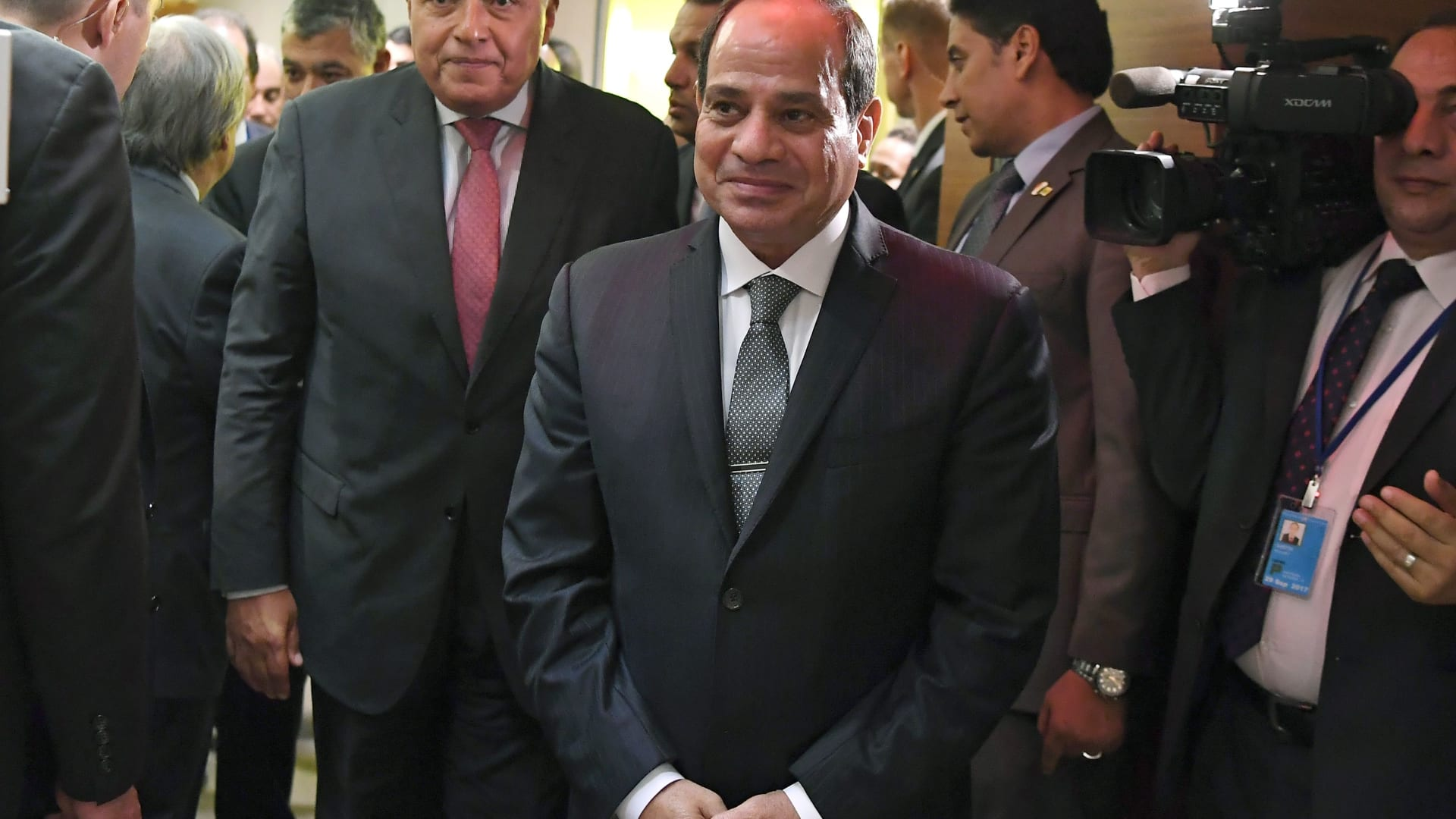 شكري عن تجنب السيسي لذكر أزمة قطر: رئيس مصر لديه مكانته