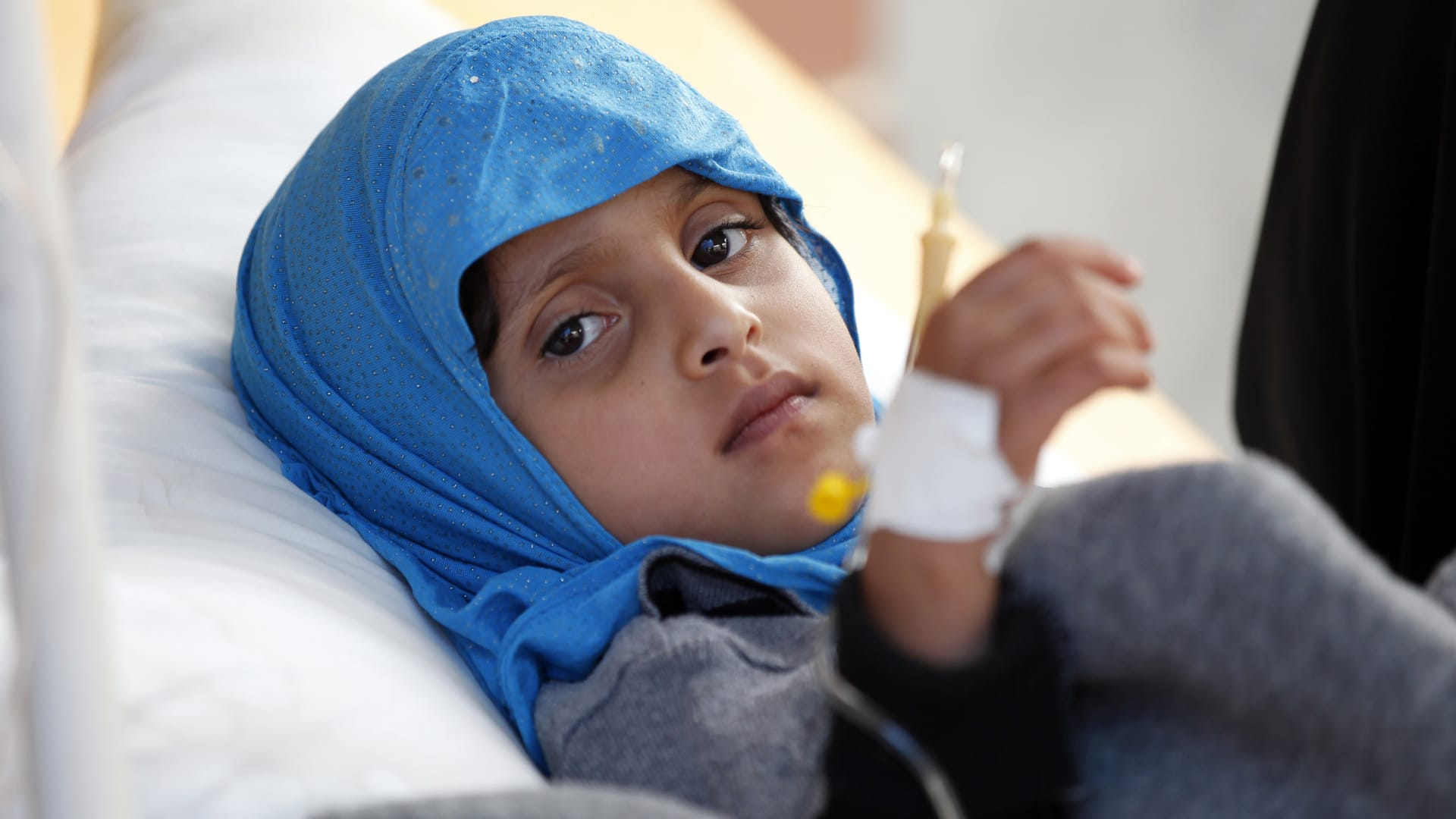 الصليب الأحمر: مليون إصابة بالكوليرا في اليمن