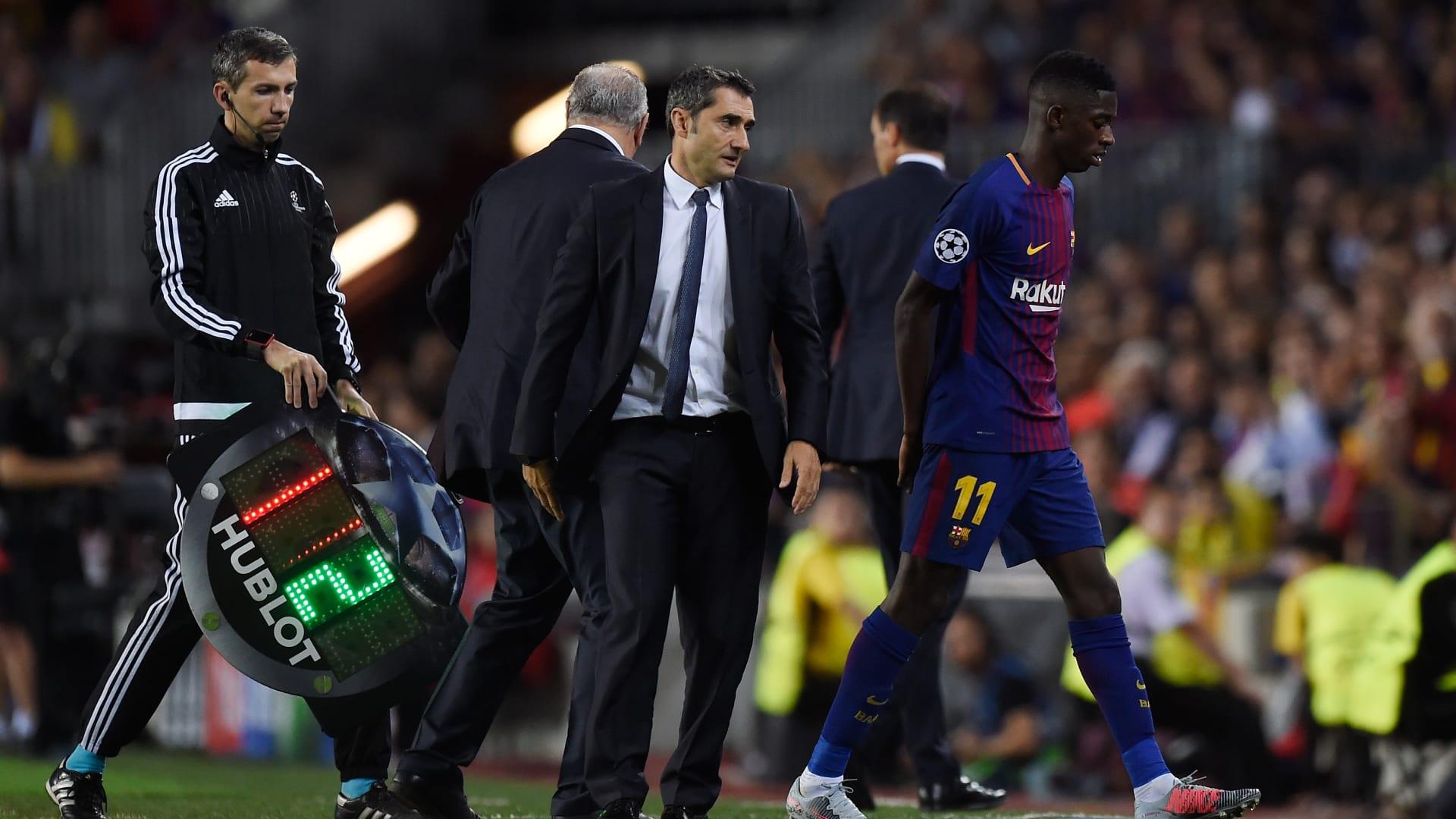 هل يعود برشلونة لخطته القديمة مع عودة عثمان ديمبيلي من الإصابة؟