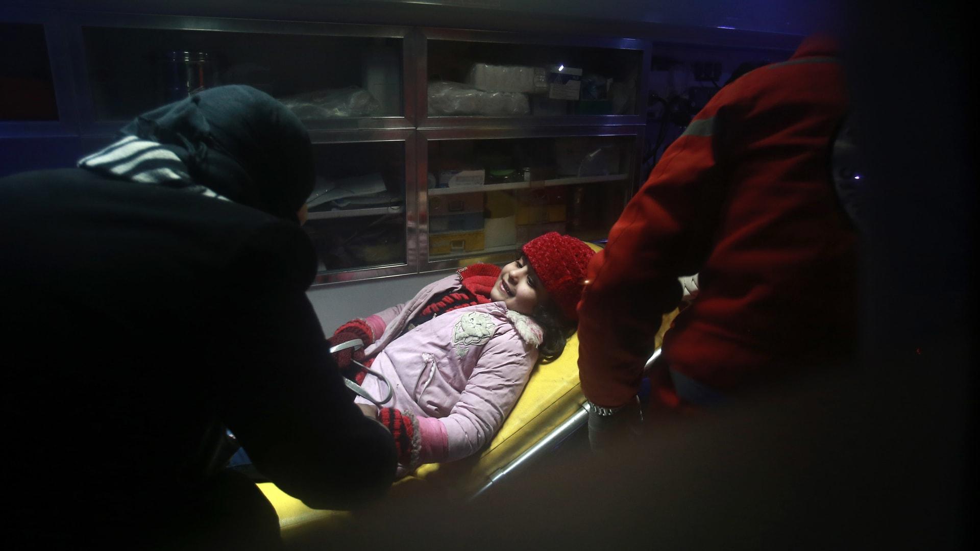 بدء عمليات الإخلاء الطبي في الغوطة الشرقية