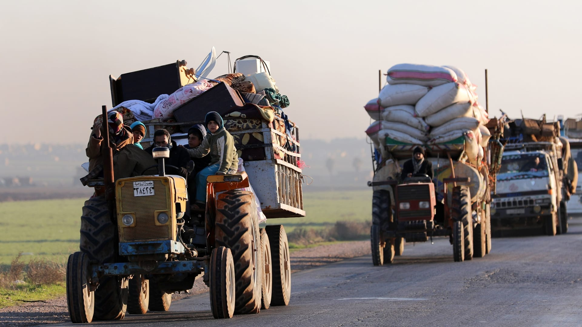 تركيا تطالب روسيا وإيران بوقف هجوم الأسد على إدلب